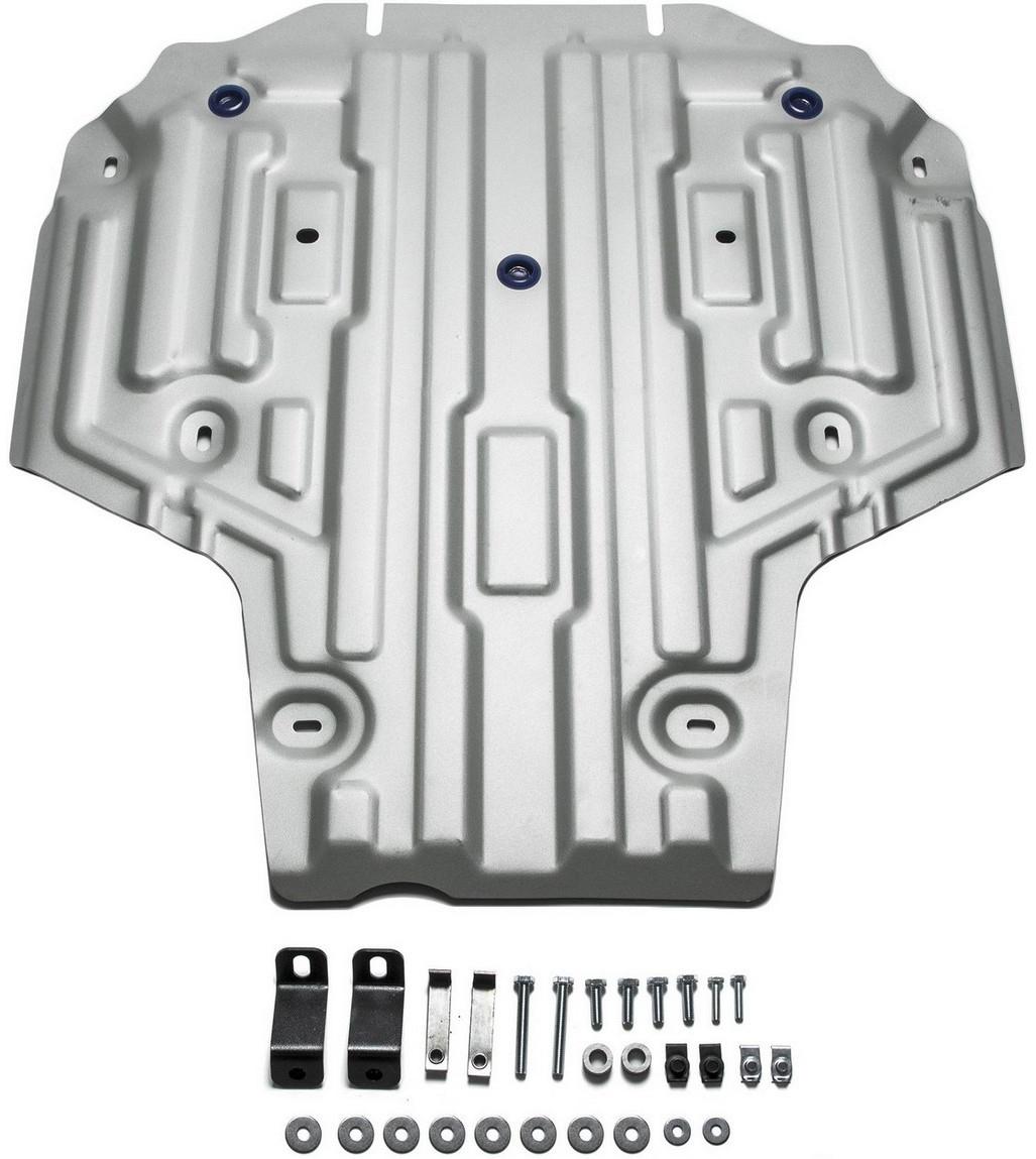 Защита КПП Rival для Audi A4 2015- / Audi A5 2016-, алюминий 4 мм - Тюнинг и защита - Защита внешних частей
