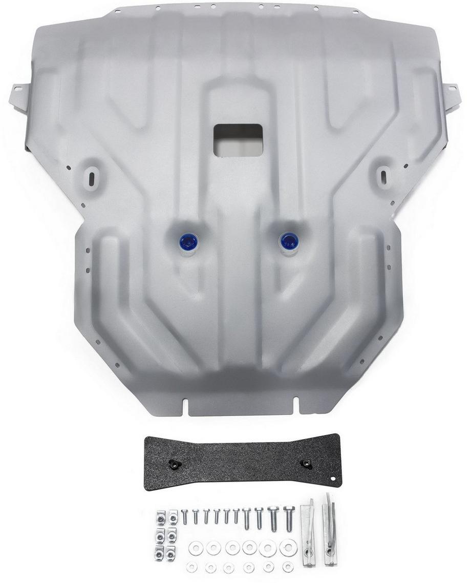 Защита картера Rival для BMW X4 2014- / BMW X3 2010-2014 2014-, алюминий 4 мм - Тюнинг и защита - Защита внешних частей