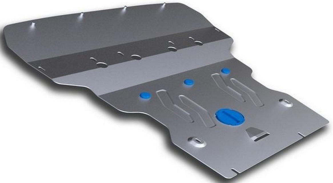 Защита картера Rival для BMW 5 GT 2009- / BMW 5-series 2010-2016, алюминий 4 мм333.0513.2Защита картера Rival для BMW 5 GT V - 528i, 530d 4WD 2009-н.в./BMW 5-series V - 528i, 530d 4WD 2010-2016, алюминий 4 мм, крепеж в комплекте, 333.0513.2Алюминиевые защиты Rival надежно защищают днище вашего автомобиля от повреждений, например при наезде на бордюры, а также выполняют эстетическую функцию при установке на высокие автомобили.- Толщина алюминиевых защит в 2 раза толще стальных, а вес при этом меньше до 30%.- Отлично отводит тепло от двигателя своей поверхностью, что спасает двигатель от перегрева в летний период или при высоких нагрузках.- В отличие от стальных, алюминиевые защиты не поддаются коррозии, что гарантирует срок службы защит более 5 лет.- Покрываются порошковой краской, что надолго сохраняет первоначальный вид новой защиты и защищает от гальванической коррозии.- Глубокий штамп дополнительно усиливает конструкцию защиты.- Подштамповка в местах крепления защищает крепеж от срезания.- Технологические отверстия там, где они необходимы для смены масла и слива воды, оборудованные заглушками, надежно закрепленными на защите.- Помимо основной функции защиты от удара, конструкция так же существенно снижает попадание в моторный отсек влаги и грязи.В комплекте инструкция по установке.Уважаемые клиенты!Обращаем ваше внимание, на тот факт, что защита имеет форму, соответствующую модели данного автомобиля. Наличие глубокого штампа и лючков для смены фильтров/масла предусмотрено не на всех защитах. Фото служит для визуального восприятия товара.