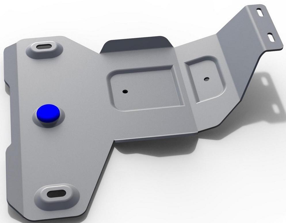 Защита редуктора Rival для BMW X1 2015-, алюминий 4 мм333.0527.1Защита редуктора Rival для BMW X1 V - 20i; 20d 4WD 2015-н.в., алюминий 4 мм, крепеж в комплекте, 333.0527.1Алюминиевые защиты Rival надежно защищают днище вашего автомобиля от повреждений, например при наезде на бордюры, а также выполняют эстетическую функцию при установке на высокие автомобили.- Толщина алюминиевых защит в 2 раза толще стальных, а вес при этом меньше до 30%.- Отлично отводит тепло от двигателя своей поверхностью, что спасает двигатель от перегрева в летний период или при высоких нагрузках.- В отличие от стальных, алюминиевые защиты не поддаются коррозии, что гарантирует срок службы защит более 5 лет.- Покрываются порошковой краской, что надолго сохраняет первоначальный вид новой защиты и защищает от гальванической коррозии.- Глубокий штамп дополнительно усиливает конструкцию защиты.- Подштамповка в местах крепления защищает крепеж от срезания.- Технологические отверстия там, где они необходимы для смены масла и слива воды, оборудованные заглушками, надежно закрепленными на защите.- Помимо основной функции защиты от удара, конструкция так же существенно снижает попадание в моторный отсек влаги и грязи.В комплекте инструкция по установке.Уважаемые клиенты!Обращаем ваше внимание, на тот факт, что защита имеет форму, соответствующую модели данного автомобиля. Наличие глубокого штампа и лючков для смены фильтров/масла предусмотрено не на всех защитах. Фото служит для визуального восприятия товара.