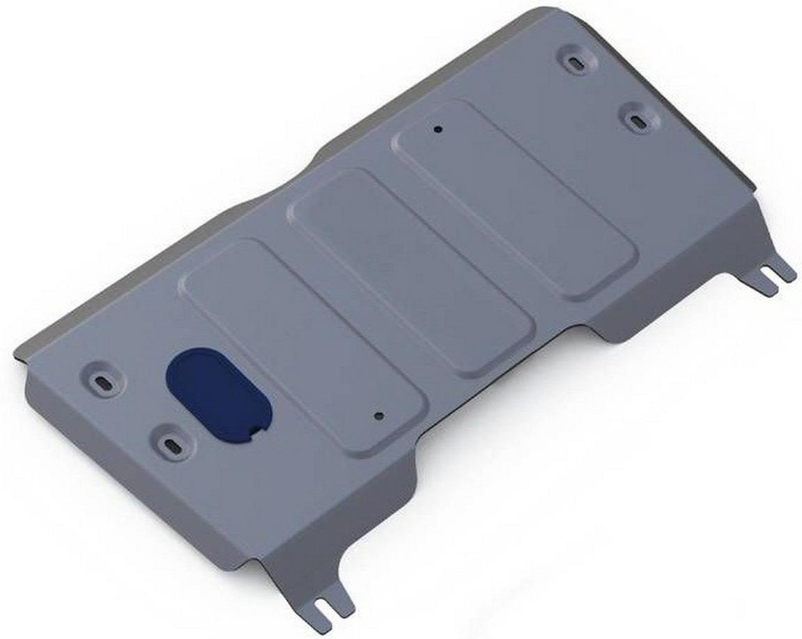 Защита картера и КПП Rival для Ford Explorer 2014-, алюминий 4 мм333.1848.1Защита картера и КПП Rival для Ford Explorer V - 3.5 2014-н.в., алюминий 4 мм, крепеж в комплекте, 333.1848.1Алюминиевые защиты Rival надежно защищают днище вашего автомобиля от повреждений, например при наезде на бордюры, а также выполняют эстетическую функцию при установке на высокие автомобили.- Толщина алюминиевых защит в 2 раза толще стальных, а вес при этом меньше до 30%.- Отлично отводит тепло от двигателя своей поверхностью, что спасает двигатель от перегрева в летний период или при высоких нагрузках.- В отличие от стальных, алюминиевые защиты не поддаются коррозии, что гарантирует срок службы защит более 5 лет.- Покрываются порошковой краской, что надолго сохраняет первоначальный вид новой защиты и защищает от гальванической коррозии.- Глубокий штамп дополнительно усиливает конструкцию защиты.- Подштамповка в местах крепления защищает крепеж от срезания.- Технологические отверстия там, где они необходимы для смены масла и слива воды, оборудованные заглушками, надежно закрепленными на защите.- Помимо основной функции защиты от удара, конструкция так же существенно снижает попадание в моторный отсек влаги и грязи.В комплекте инструкция по установке.Уважаемые клиенты!Обращаем ваше внимание, на тот факт, что защита имеет форму, соответствующую модели данного автомобиля. Наличие глубокого штампа и лючков для смены фильтров/масла предусмотрено не на всех защитах. Фото служит для визуального восприятия товара.