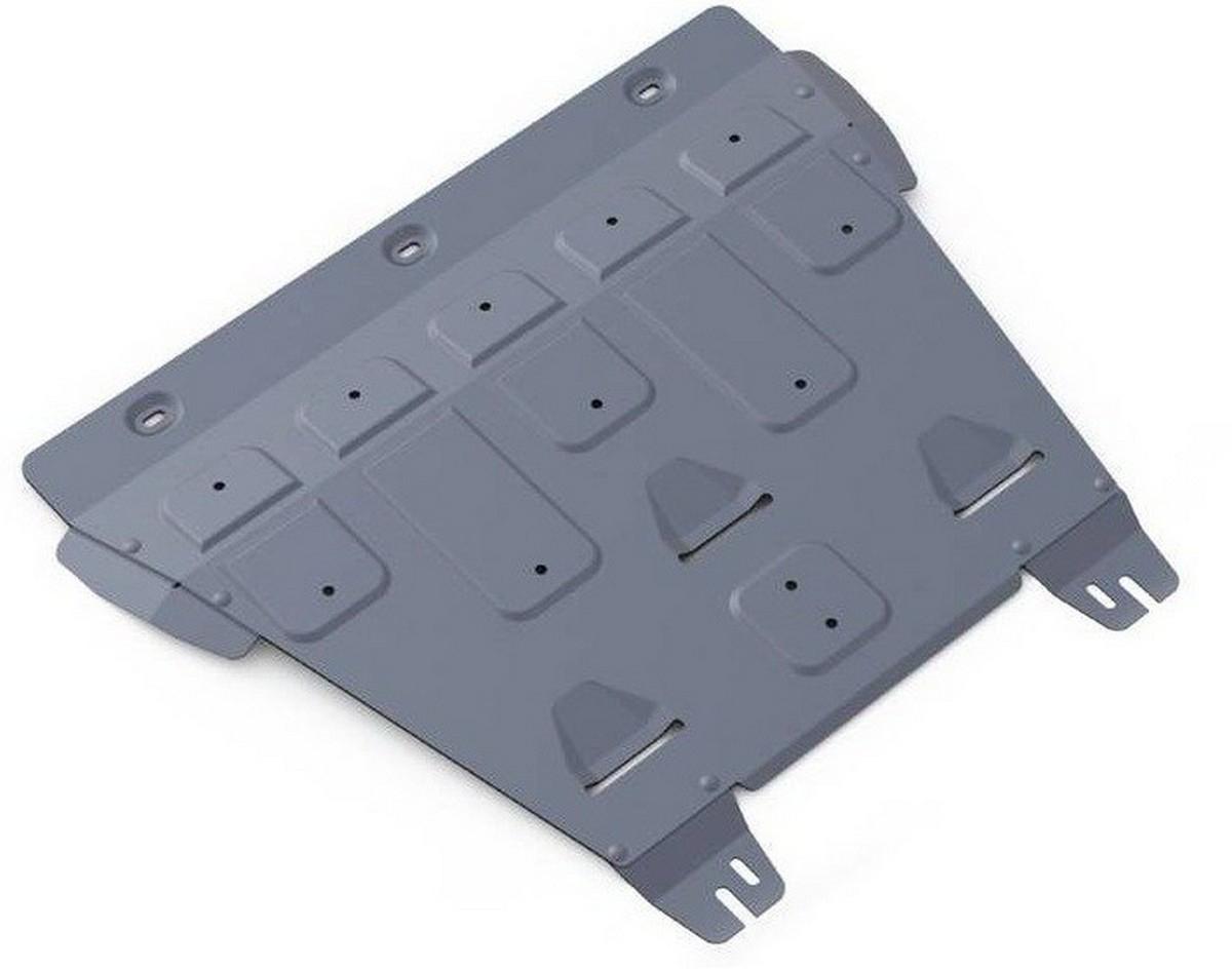 Защита картера и КПП Rival для Ford Mondeo 2015-, алюминий 4 мм333.1849.1Защита картера и КПП Rival для Ford Mondeo V - 2.5; 2.0 (199 л.с.) 2015-н.в., алюминий 4 мм, крепеж в комплекте, 333.1849.1Алюминиевые защиты Rival надежно защищают днище вашего автомобиля от повреждений, например при наезде на бордюры, а также выполняют эстетическую функцию при установке на высокие автомобили.- Толщина алюминиевых защит в 2 раза толще стальных, а вес при этом меньше до 30%.- Отлично отводит тепло от двигателя своей поверхностью, что спасает двигатель от перегрева в летний период или при высоких нагрузках.- В отличие от стальных, алюминиевые защиты не поддаются коррозии, что гарантирует срок службы защит более 5 лет.- Покрываются порошковой краской, что надолго сохраняет первоначальный вид новой защиты и защищает от гальванической коррозии.- Глубокий штамп дополнительно усиливает конструкцию защиты.- Подштамповка в местах крепления защищает крепеж от срезания.- Технологические отверстия там, где они необходимы для смены масла и слива воды, оборудованные заглушками, надежно закрепленными на защите.- Помимо основной функции защиты от удара, конструкция так же существенно снижает попадание в моторный отсек влаги и грязи.В комплекте инструкция по установке.Уважаемые клиенты!Обращаем ваше внимание, на тот факт, что защита имеет форму, соответствующую модели данного автомобиля. Наличие глубокого штампа и лючков для смены фильтров/масла предусмотрено не на всех защитах. Фото служит для визуального восприятия товара.
