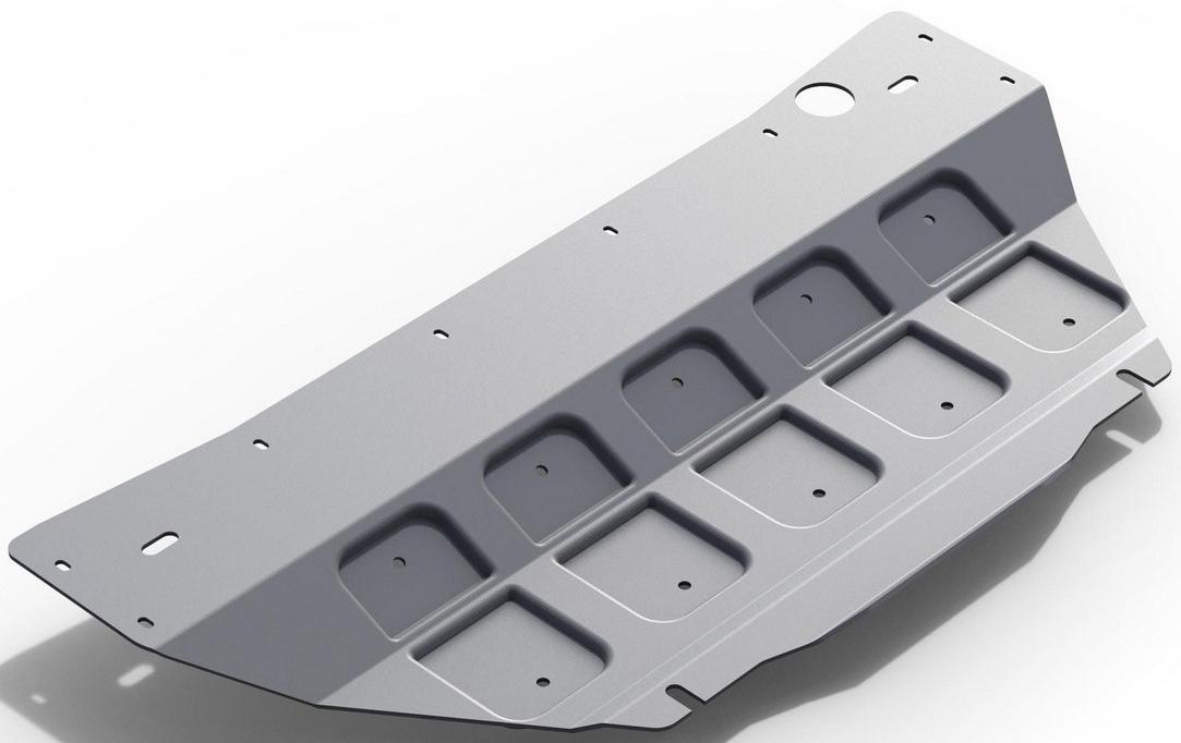 Защита картера Rival для Infiniti QX70 2013- / Infiniti FX 35 / 37 / 50 2008-2013, алюминий 4 мм - Тюнинг и защита - Защита внешних частей