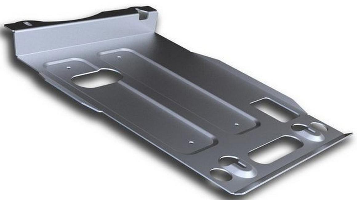 Защита картера Rival для Jeep Grand Cherokee 2010-2014 2014-, алюминий 4 мм333.2734.1Защита картера Rival для Jeep Grand Cherokee V - 3.0; 3.0d; 3.6; 5.7 2014-н.в./Jeep Grand Cherokee V - 3.0; 3.0d; 3.6; 5.7 2010-2014, алюминий 4 мм, крепеж в комплекте, 333.2734.1Алюминиевые защиты Rival надежно защищают днище вашего автомобиля от повреждений, например при наезде на бордюры, а также выполняют эстетическую функцию при установке на высокие автомобили.- Толщина алюминиевых защит в 2 раза толще стальных, а вес при этом меньше до 30%.- Отлично отводит тепло от двигателя своей поверхностью, что спасает двигатель от перегрева в летний период или при высоких нагрузках.- В отличие от стальных, алюминиевые защиты не поддаются коррозии, что гарантирует срок службы защит более 5 лет.- Покрываются порошковой краской, что надолго сохраняет первоначальный вид новой защиты и защищает от гальванической коррозии.- Глубокий штамп дополнительно усиливает конструкцию защиты.- Подштамповка в местах крепления защищает крепеж от срезания.- Технологические отверстия там, где они необходимы для смены масла и слива воды, оборудованные заглушками, надежно закрепленными на защите.- Помимо основной функции защиты от удара, конструкция так же существенно снижает попадание в моторный отсек влаги и грязи.В комплекте инструкция по установке.Уважаемые клиенты!Обращаем ваше внимание, на тот факт, что защита имеет форму, соответствующую модели данного автомобиля. Наличие глубокого штампа и лючков для смены фильтров/масла предусмотрено не на всех защитах. Фото служит для визуального восприятия товара.