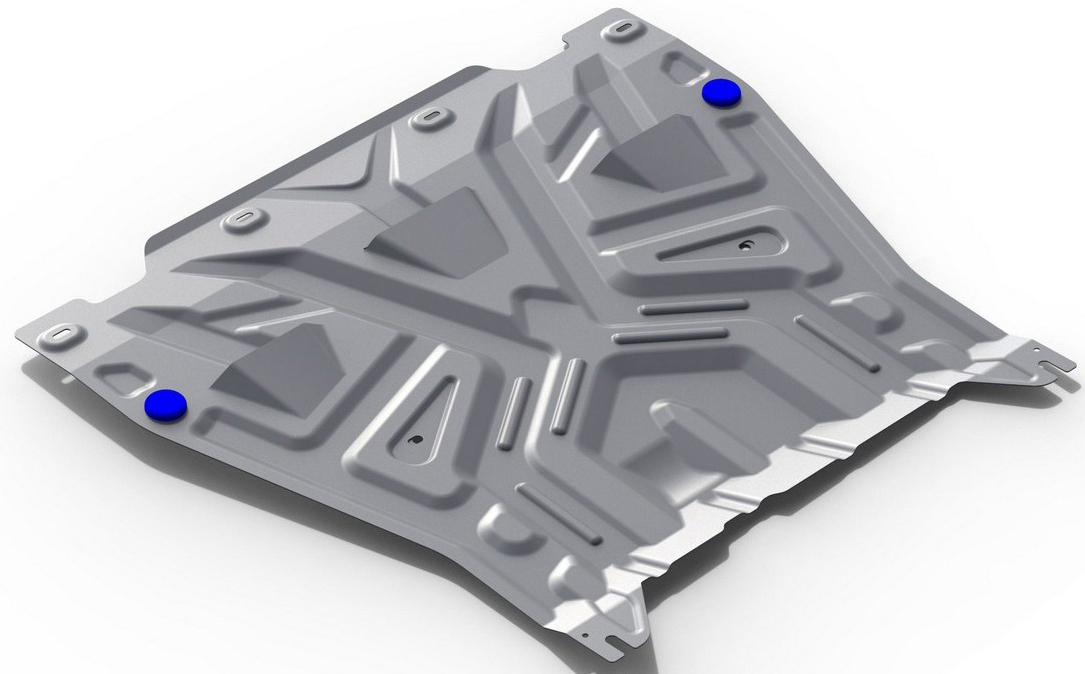 Защита картера и КПП Rival для Kia Optima 2016-, алюминий 4 мм333.2837.1Защита картера и КПП Rival для Kia Optima V - 2.0 (150 л.с.); 2.4 (188 л.с.); 2.0T-(245 л.с.) 2016-н.в., алюминий 4 мм, крепеж в комплекте, 333.2837.1Алюминиевые защиты Rival надежно защищают днище вашего автомобиля от повреждений, например при наезде на бордюры, а также выполняют эстетическую функцию при установке на высокие автомобили.- Толщина алюминиевых защит в 2 раза толще стальных, а вес при этом меньше до 30%.- Отлично отводит тепло от двигателя своей поверхностью, что спасает двигатель от перегрева в летний период или при высоких нагрузках.- В отличие от стальных, алюминиевые защиты не поддаются коррозии, что гарантирует срок службы защит более 5 лет.- Покрываются порошковой краской, что надолго сохраняет первоначальный вид новой защиты и защищает от гальванической коррозии.- Глубокий штамп дополнительно усиливает конструкцию защиты.- Подштамповка в местах крепления защищает крепеж от срезания.- Технологические отверстия там, где они необходимы для смены масла и слива воды, оборудованные заглушками, надежно закрепленными на защите.- Помимо основной функции защиты от удара, конструкция так же существенно снижает попадание в моторный отсек влаги и грязи.В комплекте инструкция по установке.Уважаемые клиенты!Обращаем ваше внимание, на тот факт, что защита имеет форму, соответствующую модели данного автомобиля. Наличие глубокого штампа и лючков для смены фильтров/масла предусмотрено не на всех защитах. Фото служит для визуального восприятия товара.