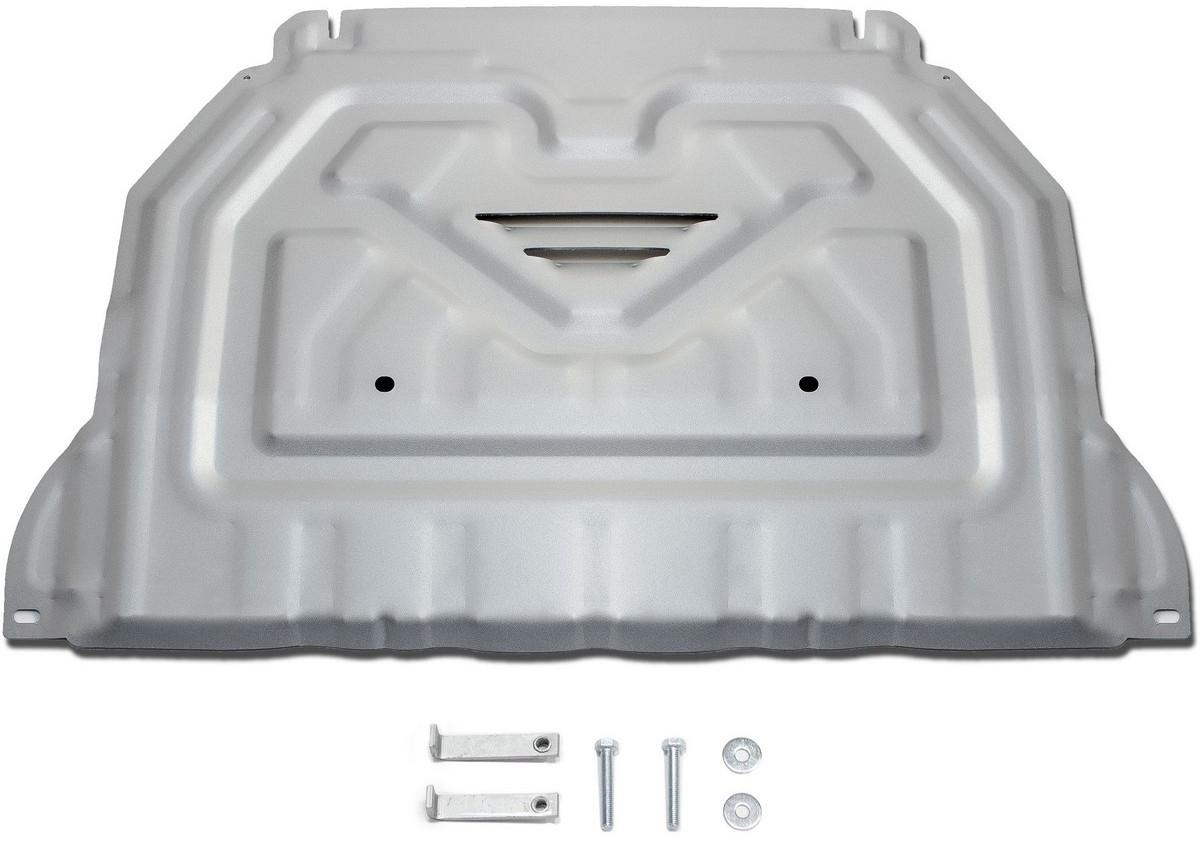 Защита картера и КПП Rival для Mitsubishi Outlander 2012-2015 2015-, алюминий 4 мм - Тюнинг и защита - Защита внешних частей