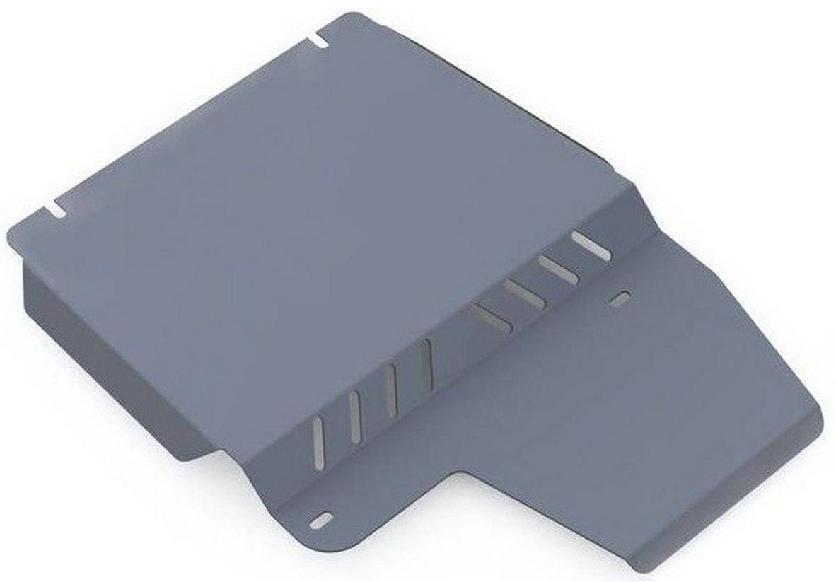 Защита РК Rival для Ford Explorer 2006-2011, алюминий 4 мм333.1820.1Защита РК Rival для Ford Explorer V - 4.0; 4.6 2006-2011, алюминий 4 мм, крепеж в комплекте, 333.1820.1Алюминиевые защиты Rival надежно защищают днище вашего автомобиля от повреждений, например при наезде на бордюры, а также выполняют эстетическую функцию при установке на высокие автомобили.- Толщина алюминиевых защит в 2 раза толще стальных, а вес при этом меньше до 30%.- Отлично отводит тепло от двигателя своей поверхностью, что спасает двигатель от перегрева в летний период или при высоких нагрузках.- В отличие от стальных, алюминиевые защиты не поддаются коррозии, что гарантирует срок службы защит более 5 лет.- Покрываются порошковой краской, что надолго сохраняет первоначальный вид новой защиты и защищает от гальванической коррозии.- Глубокий штамп дополнительно усиливает конструкцию защиты.- Подштамповка в местах крепления защищает крепеж от срезания.- Технологические отверстия там, где они необходимы для смены масла и слива воды, оборудованные заглушками, надежно закрепленными на защите.- Помимо основной функции защиты от удара, конструкция так же существенно снижает попадание в моторный отсек влаги и грязи.В комплекте инструкция по установке.Уважаемые клиенты!Обращаем ваше внимание, на тот факт, что защита имеет форму, соответствующую модели данного автомобиля. Наличие глубокого штампа и лючков для смены фильтров/масла предусмотрено не на всех защитах. Фото служит для визуального восприятия товара.