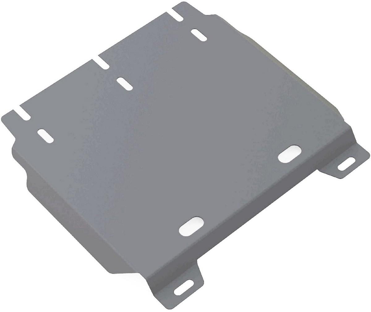 Защита КПП Rival для Hyundai H1 2007-2015 2015-, алюминий 4 мм, часть 2333.2336.1Защита КПП (часть 2) Rival для Hyundai H1 V - все 2015-н.в./Hyundai H1 V - все 2007-2015, алюминий 4 мм, крепеж в комплекте, 333.2336.1Алюминиевые защиты Rival надежно защищают днище вашего автомобиля от повреждений, например при наезде на бордюры, а также выполняют эстетическую функцию при установке на высокие автомобили.- Толщина алюминиевых защит в 2 раза толще стальных, а вес при этом меньше до 30%.- Отлично отводит тепло от двигателя своей поверхностью, что спасает двигатель от перегрева в летний период или при высоких нагрузках.- В отличие от стальных, алюминиевые защиты не поддаются коррозии, что гарантирует срок службы защит более 5 лет.- Покрываются порошковой краской, что надолго сохраняет первоначальный вид новой защиты и защищает от гальванической коррозии.- Глубокий штамп дополнительно усиливает конструкцию защиты.- Подштамповка в местах крепления защищает крепеж от срезания.- Технологические отверстия там, где они необходимы для смены масла и слива воды, оборудованные заглушками, надежно закрепленными на защите.- Помимо основной функции защиты от удара, конструкция так же существенно снижает попадание в моторный отсек влаги и грязи.В комплекте инструкция по установке.Уважаемые клиенты!Обращаем ваше внимание, на тот факт, что защита имеет форму, соответствующую модели данного автомобиля. Наличие глубокого штампа и лючков для смены фильтров/масла предусмотрено не на всех защитах. Фото служит для визуального восприятия товара.