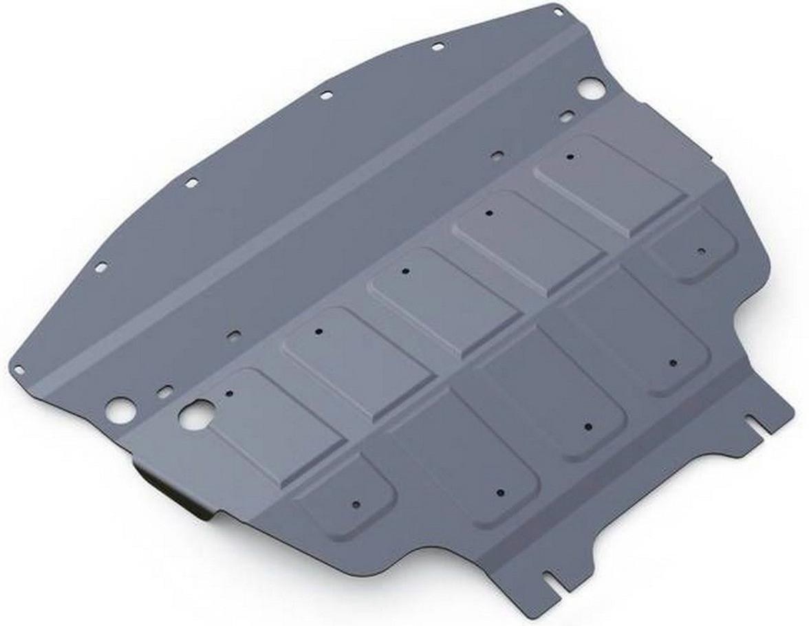 Защита картера Rival для Infiniti Q70 2014- / Infiniti M37 2010-2014, алюминий 4 мм333.2412.1Защита картера Rival для Infiniti Q70 V - 3.7 4WD 2014-н.в./Infiniti M37 V - 3.7 2010-2014, алюминий 4 мм, крепеж в комплекте, 333.2412.1Алюминиевые защиты Rival надежно защищают днище вашего автомобиля от повреждений, например при наезде на бордюры, а также выполняют эстетическую функцию при установке на высокие автомобили.- Толщина алюминиевых защит в 2 раза толще стальных, а вес при этом меньше до 30%.- Отлично отводит тепло от двигателя своей поверхностью, что спасает двигатель от перегрева в летний период или при высоких нагрузках.- В отличие от стальных, алюминиевые защиты не поддаются коррозии, что гарантирует срок службы защит более 5 лет.- Покрываются порошковой краской, что надолго сохраняет первоначальный вид новой защиты и защищает от гальванической коррозии.- Глубокий штамп дополнительно усиливает конструкцию защиты.- Подштамповка в местах крепления защищает крепеж от срезания.- Технологические отверстия там, где они необходимы для смены масла и слива воды, оборудованные заглушками, надежно закрепленными на защите.- Помимо основной функции защиты от удара, конструкция так же существенно снижает попадание в моторный отсек влаги и грязи.В комплекте инструкция по установке.Уважаемые клиенты!Обращаем ваше внимание, на тот факт, что защита имеет форму, соответствующую модели данного автомобиля. Наличие глубокого штампа и лючков для смены фильтров/масла предусмотрено не на всех защитах. Фото служит для визуального восприятия товара.