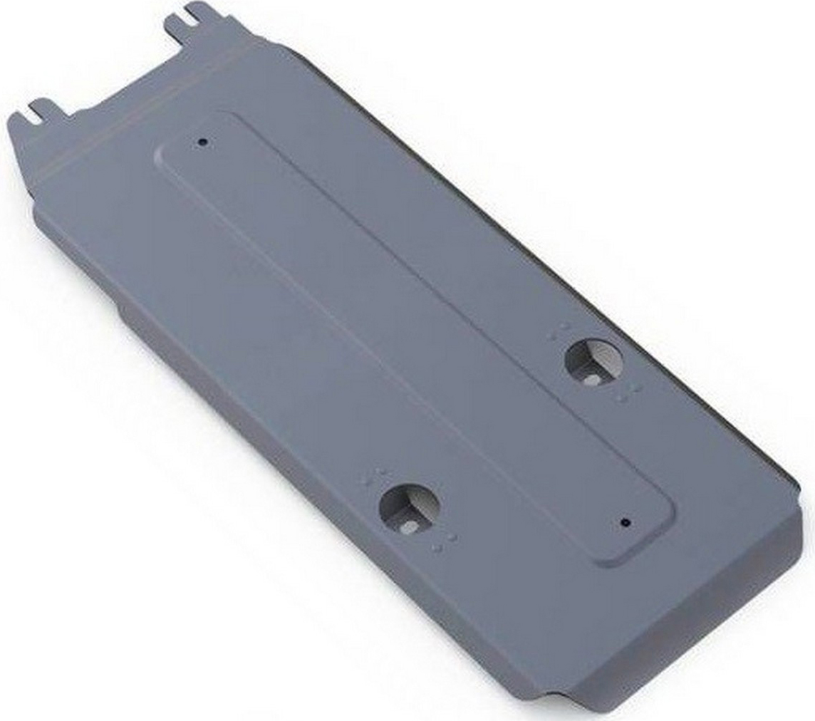 Защита КПП Rival для Infiniti M37 2010-2014, алюминий 4 мм333.2413.1Защита КПП Rival для Infiniti M37 V - 3.7 2010-2014, алюминий 4 мм, крепеж в комплекте, 333.2413.1Алюминиевые защиты Rival надежно защищают днище вашего автомобиля от повреждений, например при наезде на бордюры, а также выполняют эстетическую функцию при установке на высокие автомобили.- Толщина алюминиевых защит в 2 раза толще стальных, а вес при этом меньше до 30%.- Отлично отводит тепло от двигателя своей поверхностью, что спасает двигатель от перегрева в летний период или при высоких нагрузках.- В отличие от стальных, алюминиевые защиты не поддаются коррозии, что гарантирует срок службы защит более 5 лет.- Покрываются порошковой краской, что надолго сохраняет первоначальный вид новой защиты и защищает от гальванической коррозии.- Глубокий штамп дополнительно усиливает конструкцию защиты.- Подштамповка в местах крепления защищает крепеж от срезания.- Технологические отверстия там, где они необходимы для смены масла и слива воды, оборудованные заглушками, надежно закрепленными на защите.- Помимо основной функции защиты от удара, конструкция так же существенно снижает попадание в моторный отсек влаги и грязи.В комплекте инструкция по установке.Уважаемые клиенты!Обращаем ваше внимание, на тот факт, что защита имеет форму, соответствующую модели данного автомобиля. Наличие глубокого штампа и лючков для смены фильтров/масла предусмотрено не на всех защитах. Фото служит для визуального восприятия товара.