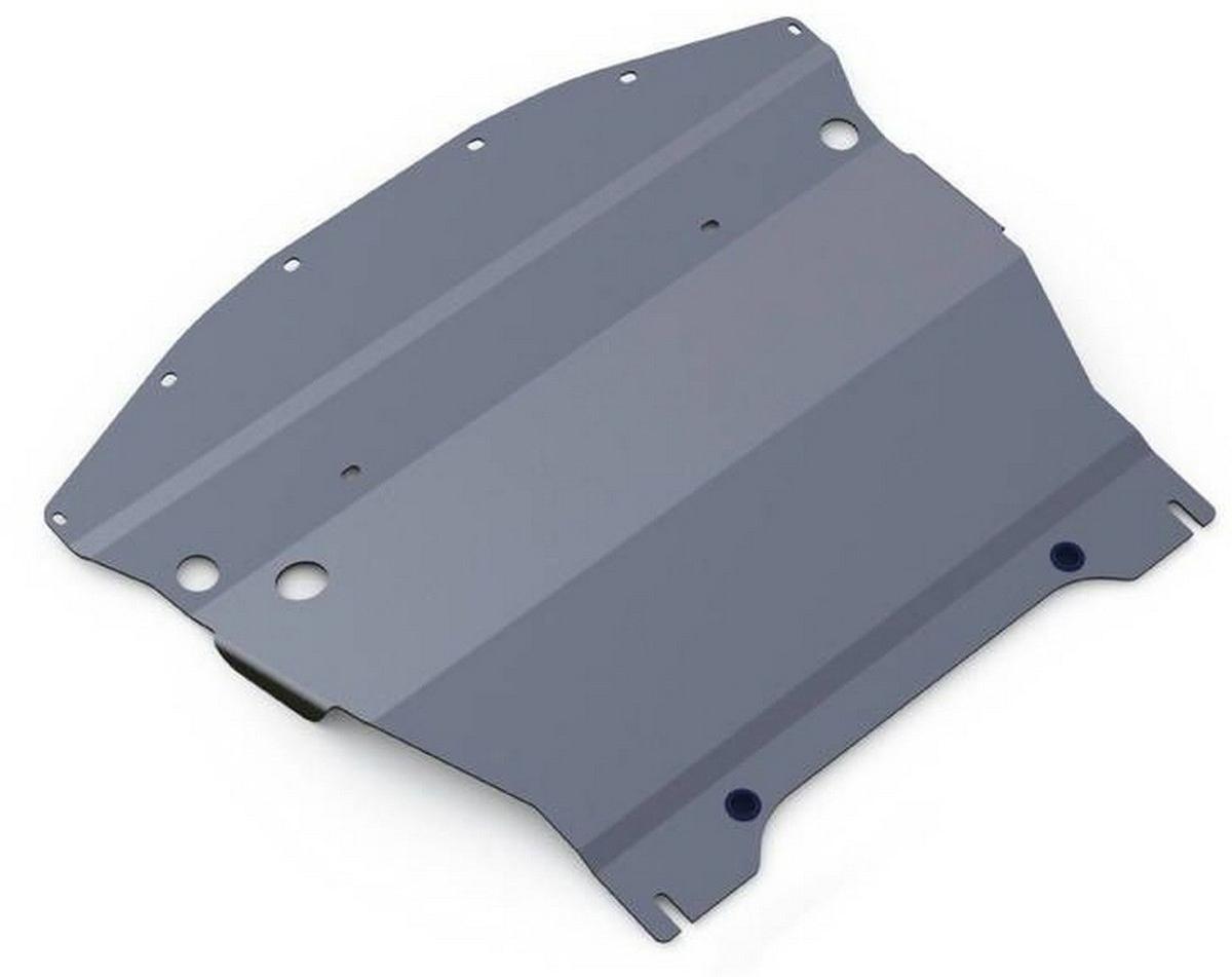 Защита картера Rival для Infiniti Q70 2014- / Infiniti M25 2010-2014, алюминий 4 мм333.2414.1Защита картера Rival для Infiniti Q70 V - 2.5 2014-н.в./Infiniti M25 V - 2.5 2010-2014, алюминий 4 мм, крепеж в комплекте, 333.2414.1Алюминиевые защиты Rival надежно защищают днище вашего автомобиля от повреждений, например при наезде на бордюры, а также выполняют эстетическую функцию при установке на высокие автомобили.- Толщина алюминиевых защит в 2 раза толще стальных, а вес при этом меньше до 30%.- Отлично отводит тепло от двигателя своей поверхностью, что спасает двигатель от перегрева в летний период или при высоких нагрузках.- В отличие от стальных, алюминиевые защиты не поддаются коррозии, что гарантирует срок службы защит более 5 лет.- Покрываются порошковой краской, что надолго сохраняет первоначальный вид новой защиты и защищает от гальванической коррозии.- Глубокий штамп дополнительно усиливает конструкцию защиты.- Подштамповка в местах крепления защищает крепеж от срезания.- Технологические отверстия там, где они необходимы для смены масла и слива воды, оборудованные заглушками, надежно закрепленными на защите.- Помимо основной функции защиты от удара, конструкция так же существенно снижает попадание в моторный отсек влаги и грязи.В комплекте инструкция по установке.Уважаемые клиенты!Обращаем ваше внимание, на тот факт, что защита имеет форму, соответствующую модели данного автомобиля. Наличие глубокого штампа и лючков для смены фильтров/масла предусмотрено не на всех защитах. Фото служит для визуального восприятия товара.