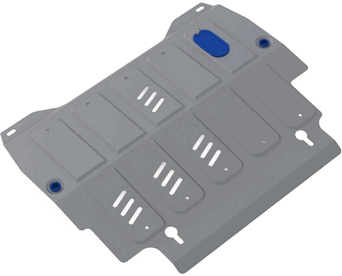 Защита картера и КПП Rival для Infiniti QX60 2016- / Infiniti JX35 2012-2013 / Infiniti QX60 2013-2016 / Nissan Murano 2016- / Nissan Pathfinder 2014-, алюминий 4 мм333.2415.2Защита картера и КПП Rival для Infiniti QX60 V - 3.5 2016-н.в./Infiniti JX35 V - 3.5 2012-2013/Infiniti QX60 V - 3.5; 2.5 HEV 2013-2016/Nissan Murano V - 3.5 2016-н.в./Nissan Pathfinder V - 3.5 2014-н.в., алюминий 4 мм, крепеж в комплекте, 333.2415.2Алюминиевые защиты Rival надежно защищают днище вашего автомобиля от повреждений, например при наезде на бордюры, а также выполняют эстетическую функцию при установке на высокие автомобили.- Толщина алюминиевых защит в 2 раза толще стальных, а вес при этом меньше до 30%.- Отлично отводит тепло от двигателя своей поверхностью, что спасает двигатель от перегрева в летний период или при высоких нагрузках.- В отличие от стальных, алюминиевые защиты не поддаются коррозии, что гарантирует срок службы защит более 5 лет.- Покрываются порошковой краской, что надолго сохраняет первоначальный вид новой защиты и защищает от гальванической коррозии.- Глубокий штамп дополнительно усиливает конструкцию защиты.- Подштамповка в местах крепления защищает крепеж от срезания.- Технологические отверстия там, где они необходимы для смены масла и слива воды, оборудованные заглушками, надежно закрепленными на защите.- Помимо основной функции защиты от удара, конструкция так же существенно снижает попадание в моторный отсек влаги и грязи.В комплекте инструкция по установке.Уважаемые клиенты!Обращаем ваше внимание, на тот факт, что защита имеет форму, соответствующую модели данного автомобиля. Наличие глубокого штампа и лючков для смены фильтров/масла предусмотрено не на всех защитах. Фото служит для визуального восприятия товара.