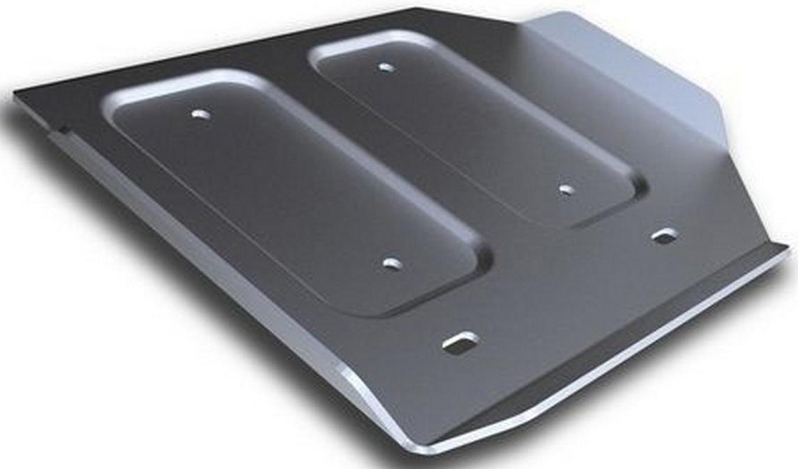 Защита РК Rival для Infiniti Q50 2013-, алюминий 4 мм333.2419.1Защита РК Rival для Infiniti Q50 V - 3.5 Hybrid 2013-н.в., алюминий 4 мм, крепеж в комплекте, 333.2419.1Алюминиевые защиты Rival надежно защищают днище вашего автомобиля от повреждений, например при наезде на бордюры, а также выполняют эстетическую функцию при установке на высокие автомобили.- Толщина алюминиевых защит в 2 раза толще стальных, а вес при этом меньше до 30%.- Отлично отводит тепло от двигателя своей поверхностью, что спасает двигатель от перегрева в летний период или при высоких нагрузках.- В отличие от стальных, алюминиевые защиты не поддаются коррозии, что гарантирует срок службы защит более 5 лет.- Покрываются порошковой краской, что надолго сохраняет первоначальный вид новой защиты и защищает от гальванической коррозии.- Глубокий штамп дополнительно усиливает конструкцию защиты.- Подштамповка в местах крепления защищает крепеж от срезания.- Технологические отверстия там, где они необходимы для смены масла и слива воды, оборудованные заглушками, надежно закрепленными на защите.- Помимо основной функции защиты от удара, конструкция так же существенно снижает попадание в моторный отсек влаги и грязи.В комплекте инструкция по установке.Уважаемые клиенты!Обращаем ваше внимание, на тот факт, что защита имеет форму, соответствующую модели данного автомобиля. Наличие глубокого штампа и лючков для смены фильтров/масла предусмотрено не на всех защитах. Фото служит для визуального восприятия товара.