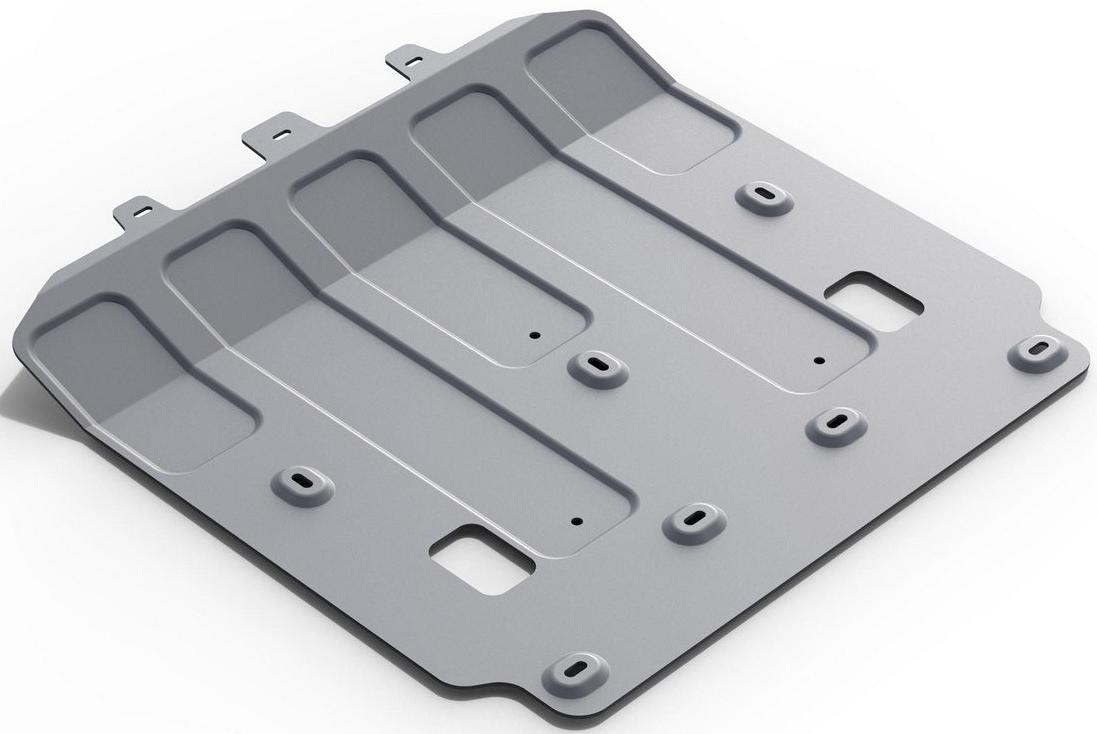 Защита картера Rival для Jaguar XE 2015- / Jaguar XF 2015-, алюминий 4 мм333.2603.1Защита картера Rival для Jaguar XE V - 2.0 (240 л.с.); 2.0 (200 л.с.); 2.0d(180 л.с.) 2015-н.в./Jaguar XF V - 2.0d(180 л.с.) 2015-н.в., алюминий 4 мм, крепеж в комплекте, 333.2603.1Алюминиевые защиты Rival надежно защищают днище вашего автомобиля от повреждений, например при наезде на бордюры, а также выполняют эстетическую функцию при установке на высокие автомобили.- Толщина алюминиевых защит в 2 раза толще стальных, а вес при этом меньше до 30%.- Отлично отводит тепло от двигателя своей поверхностью, что спасает двигатель от перегрева в летний период или при высоких нагрузках.- В отличие от стальных, алюминиевые защиты не поддаются коррозии, что гарантирует срок службы защит более 5 лет.- Покрываются порошковой краской, что надолго сохраняет первоначальный вид новой защиты и защищает от гальванической коррозии.- Глубокий штамп дополнительно усиливает конструкцию защиты.- Подштамповка в местах крепления защищает крепеж от срезания.- Технологические отверстия там, где они необходимы для смены масла и слива воды, оборудованные заглушками, надежно закрепленными на защите.- Помимо основной функции защиты от удара, конструкция так же существенно снижает попадание в моторный отсек влаги и грязи.В комплекте инструкция по установке.Уважаемые клиенты!Обращаем ваше внимание, на тот факт, что защита имеет форму, соответствующую модели данного автомобиля. Наличие глубокого штампа и лючков для смены фильтров/масла предусмотрено не на всех защитах. Фото служит для визуального восприятия товара.