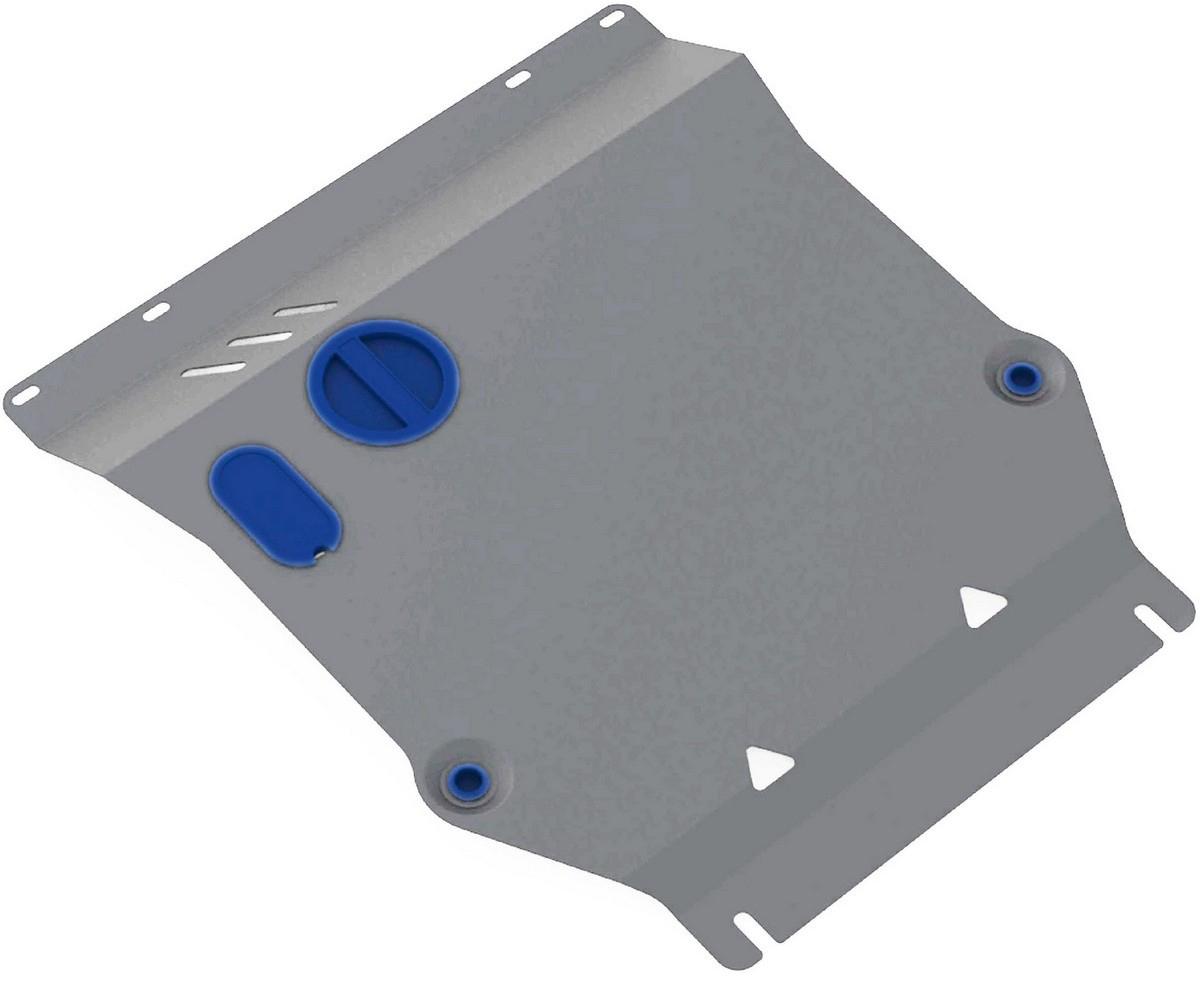 Защита картера и КПП Rival для Kia Soul 2009-2014, алюминий 4 мм333.2806.1Защита картера и КПП Rival для Kia Soul V - все 2009-2014, алюминий 4 мм, крепеж в комплекте, 333.2806.1Алюминиевые защиты Rival надежно защищают днище вашего автомобиля от повреждений, например при наезде на бордюры, а также выполняют эстетическую функцию при установке на высокие автомобили.- Толщина алюминиевых защит в 2 раза толще стальных, а вес при этом меньше до 30%.- Отлично отводит тепло от двигателя своей поверхностью, что спасает двигатель от перегрева в летний период или при высоких нагрузках.- В отличие от стальных, алюминиевые защиты не поддаются коррозии, что гарантирует срок службы защит более 5 лет.- Покрываются порошковой краской, что надолго сохраняет первоначальный вид новой защиты и защищает от гальванической коррозии.- Глубокий штамп дополнительно усиливает конструкцию защиты.- Подштамповка в местах крепления защищает крепеж от срезания.- Технологические отверстия там, где они необходимы для смены масла и слива воды, оборудованные заглушками, надежно закрепленными на защите.- Помимо основной функции защиты от удара, конструкция так же существенно снижает попадание в моторный отсек влаги и грязи.В комплекте инструкция по установке.Уважаемые клиенты!Обращаем ваше внимание, на тот факт, что защита имеет форму, соответствующую модели данного автомобиля. Наличие глубокого штампа и лючков для смены фильтров/масла предусмотрено не на всех защитах. Фото служит для визуального восприятия товара.