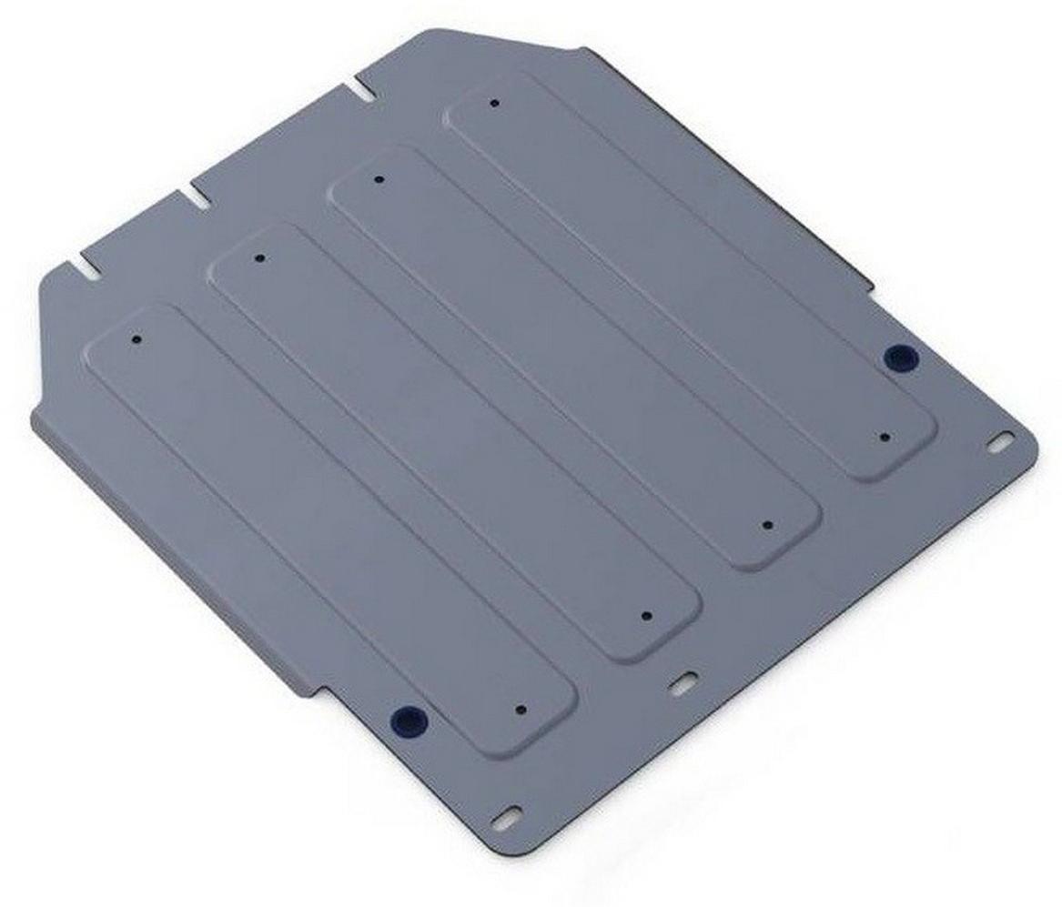 Защита КПП Rival для Kia Mohave 2008-2017 2017-, алюминий 4 мм333.2815.1Защита КПП Rival для Kia Mohave V - все 2017-н.в./Kia Mohave V - все 2008-2017, алюминий 4 мм, крепеж в комплекте, 333.2815.1Алюминиевые защиты Rival надежно защищают днище вашего автомобиля от повреждений, например при наезде на бордюры, а также выполняют эстетическую функцию при установке на высокие автомобили.- Толщина алюминиевых защит в 2 раза толще стальных, а вес при этом меньше до 30%.- Отлично отводит тепло от двигателя своей поверхностью, что спасает двигатель от перегрева в летний период или при высоких нагрузках.- В отличие от стальных, алюминиевые защиты не поддаются коррозии, что гарантирует срок службы защит более 5 лет.- Покрываются порошковой краской, что надолго сохраняет первоначальный вид новой защиты и защищает от гальванической коррозии.- Глубокий штамп дополнительно усиливает конструкцию защиты.- Подштамповка в местах крепления защищает крепеж от срезания.- Технологические отверстия там, где они необходимы для смены масла и слива воды, оборудованные заглушками, надежно закрепленными на защите.- Помимо основной функции защиты от удара, конструкция так же существенно снижает попадание в моторный отсек влаги и грязи.В комплекте инструкция по установке.Уважаемые клиенты!Обращаем ваше внимание, на тот факт, что защита имеет форму, соответствующую модели данного автомобиля. Наличие глубокого штампа и лючков для смены фильтров/масла предусмотрено не на всех защитах. Фото служит для визуального восприятия товара.