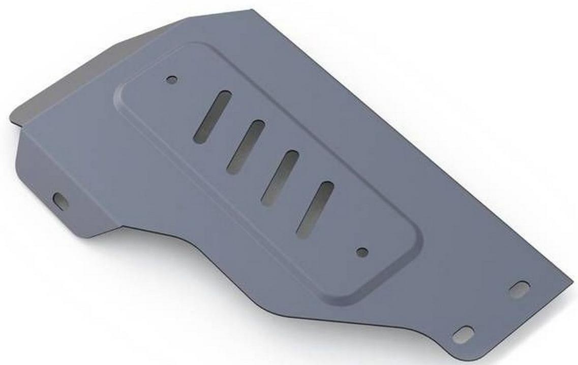 Защита редуктора Rival для Kia Sorento Prime 2015-, алюминий 4 мм333.2832.1Защита редуктора Rival для Kia Sorento Prime V - 2.4; 2.2d; 3.3 2015-н.в., алюминий 4 мм, крепеж в комплекте, 333.2832.1Алюминиевые защиты Rival надежно защищают днище вашего автомобиля от повреждений, например при наезде на бордюры, а также выполняют эстетическую функцию при установке на высокие автомобили.- Толщина алюминиевых защит в 2 раза толще стальных, а вес при этом меньше до 30%.- Отлично отводит тепло от двигателя своей поверхностью, что спасает двигатель от перегрева в летний период или при высоких нагрузках.- В отличие от стальных, алюминиевые защиты не поддаются коррозии, что гарантирует срок службы защит более 5 лет.- Покрываются порошковой краской, что надолго сохраняет первоначальный вид новой защиты и защищает от гальванической коррозии.- Глубокий штамп дополнительно усиливает конструкцию защиты.- Подштамповка в местах крепления защищает крепеж от срезания.- Технологические отверстия там, где они необходимы для смены масла и слива воды, оборудованные заглушками, надежно закрепленными на защите.- Помимо основной функции защиты от удара, конструкция так же существенно снижает попадание в моторный отсек влаги и грязи.В комплекте инструкция по установке.Уважаемые клиенты!Обращаем ваше внимание, на тот факт, что защита имеет форму, соответствующую модели данного автомобиля. Наличие глубокого штампа и лючков для смены фильтров/масла предусмотрено не на всех защитах. Фото служит для визуального восприятия товара.