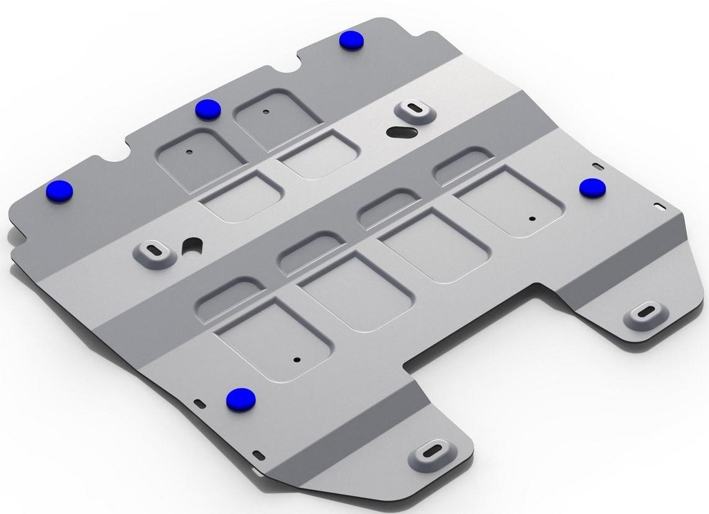 Защита радиатора Rival для Lexus GS 250 2013-, алюминий 4 мм333.3214.1Защита радиатора Rival для Lexus GS 250 V - 2.5 2013-н.в., алюминий 4 мм, крепеж в комплекте, 333.3214.1Алюминиевые защиты Rival надежно защищают днище вашего автомобиля от повреждений, например при наезде на бордюры, а также выполняют эстетическую функцию при установке на высокие автомобили.- Толщина алюминиевых защит в 2 раза толще стальных, а вес при этом меньше до 30%.- Отлично отводит тепло от двигателя своей поверхностью, что спасает двигатель от перегрева в летний период или при высоких нагрузках.- В отличие от стальных, алюминиевые защиты не поддаются коррозии, что гарантирует срок службы защит более 5 лет.- Покрываются порошковой краской, что надолго сохраняет первоначальный вид новой защиты и защищает от гальванической коррозии.- Глубокий штамп дополнительно усиливает конструкцию защиты.- Подштамповка в местах крепления защищает крепеж от срезания.- Технологические отверстия там, где они необходимы для смены масла и слива воды, оборудованные заглушками, надежно закрепленными на защите.- Помимо основной функции защиты от удара, конструкция так же существенно снижает попадание в моторный отсек влаги и грязи.В комплекте инструкция по установке.Уважаемые клиенты!Обращаем ваше внимание, на тот факт, что защита имеет форму, соответствующую модели данного автомобиля. Наличие глубокого штампа и лючков для смены фильтров/масла предусмотрено не на всех защитах. Фото служит для визуального восприятия товара.