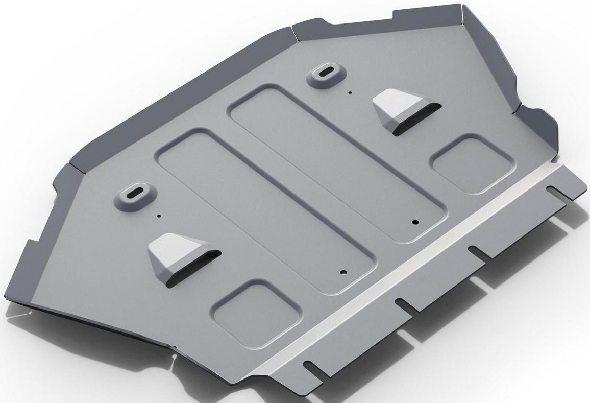 Защита картера Rival для Mercedes Benz S-class 2013-, алюминий 4 мм333.3912.1Защита картера Rival для Mercedes Benz S-class V - 4.7 RWD 2013-н.в., алюминий 4 мм, крепеж в комплекте, 333.3912.1Алюминиевые защиты Rival надежно защищают днище вашего автомобиля от повреждений, например при наезде на бордюры, а также выполняют эстетическую функцию при установке на высокие автомобили.- Толщина алюминиевых защит в 2 раза толще стальных, а вес при этом меньше до 30%.- Отлично отводит тепло от двигателя своей поверхностью, что спасает двигатель от перегрева в летний период или при высоких нагрузках.- В отличие от стальных, алюминиевые защиты не поддаются коррозии, что гарантирует срок службы защит более 5 лет.- Покрываются порошковой краской, что надолго сохраняет первоначальный вид новой защиты и защищает от гальванической коррозии.- Глубокий штамп дополнительно усиливает конструкцию защиты.- Подштамповка в местах крепления защищает крепеж от срезания.- Технологические отверстия там, где они необходимы для смены масла и слива воды, оборудованные заглушками, надежно закрепленными на защите.- Помимо основной функции защиты от удара, конструкция так же существенно снижает попадание в моторный отсек влаги и грязи.В комплекте инструкция по установке.Уважаемые клиенты!Обращаем ваше внимание, на тот факт, что защита имеет форму, соответствующую модели данного автомобиля. Наличие глубокого штампа и лючков для смены фильтров/масла предусмотрено не на всех защитах. Фото служит для визуального восприятия товара.