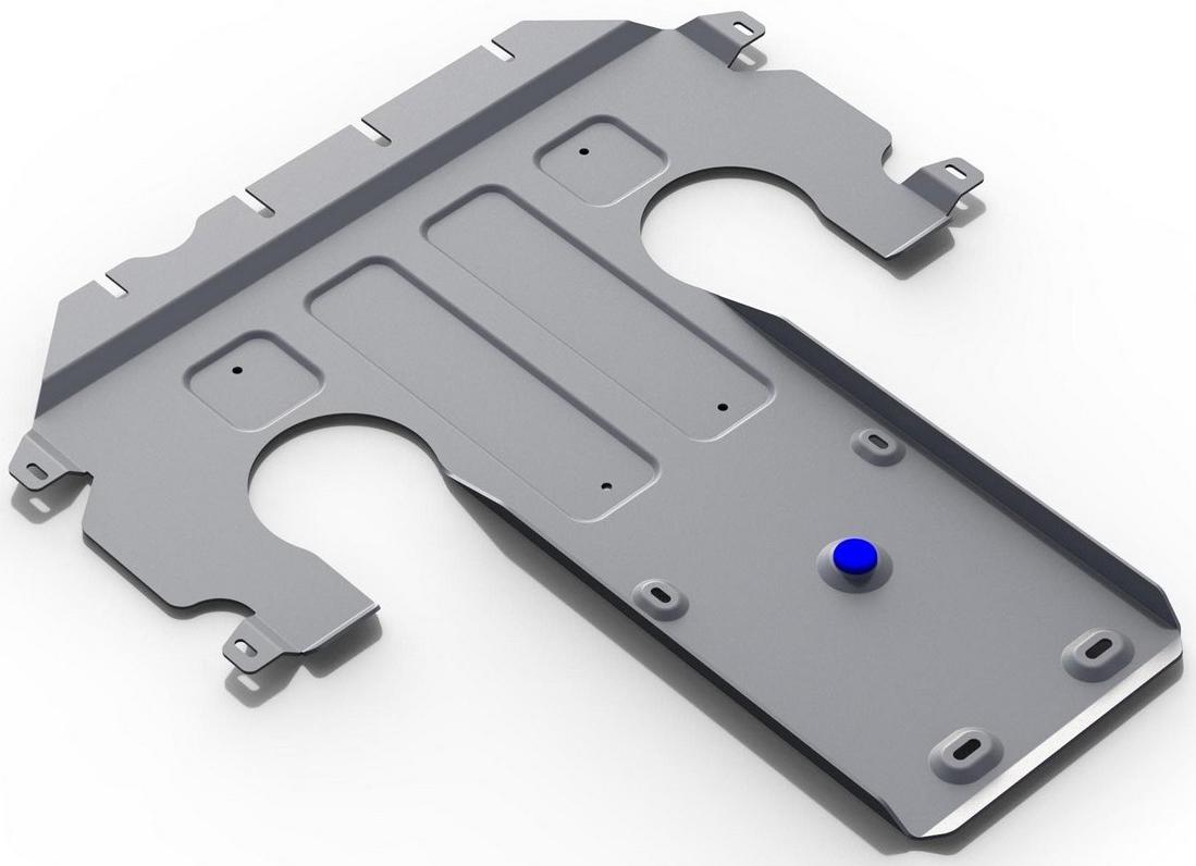 Защита КПП Rival для Mercedes Benz S-class 2013-, алюминий 4 мм333.3913.1Защита КПП Rival для Mercedes Benz S-class V - 4.7 RWD 2013-н.в., алюминий 4 мм, крепеж в комплекте, 333.3913.1Алюминиевые защиты Rival надежно защищают днище вашего автомобиля от повреждений, например при наезде на бордюры, а также выполняют эстетическую функцию при установке на высокие автомобили.- Толщина алюминиевых защит в 2 раза толще стальных, а вес при этом меньше до 30%.- Отлично отводит тепло от двигателя своей поверхностью, что спасает двигатель от перегрева в летний период или при высоких нагрузках.- В отличие от стальных, алюминиевые защиты не поддаются коррозии, что гарантирует срок службы защит более 5 лет.- Покрываются порошковой краской, что надолго сохраняет первоначальный вид новой защиты и защищает от гальванической коррозии.- Глубокий штамп дополнительно усиливает конструкцию защиты.- Подштамповка в местах крепления защищает крепеж от срезания.- Технологические отверстия там, где они необходимы для смены масла и слива воды, оборудованные заглушками, надежно закрепленными на защите.- Помимо основной функции защиты от удара, конструкция так же существенно снижает попадание в моторный отсек влаги и грязи.В комплекте инструкция по установке.Уважаемые клиенты!Обращаем ваше внимание, на тот факт, что защита имеет форму, соответствующую модели данного автомобиля. Наличие глубокого штампа и лючков для смены фильтров/масла предусмотрено не на всех защитах. Фото служит для визуального восприятия товара.