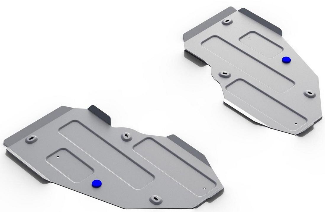 Защита топливного бака Rival для Mercedes Benz GLE 2015- / Mercedes Benz GLE купе 2015-, алюминий 4 мм333.3931.1Защита топливного бака Rival для Mercedes Benz GLE V - 250d; 350d; 400 2015-н.в./Mercedes Benz GLE купе V - 350d; 400; 450 AMG 2015-н.в., алюминий 4 мм, крепеж в комплекте, 333.3931.1Алюминиевые защиты Rival надежно защищают днище вашего автомобиля от повреждений, например при наезде на бордюры, а также выполняют эстетическую функцию при установке на высокие автомобили.- Толщина алюминиевых защит в 2 раза толще стальных, а вес при этом меньше до 30%.- Отлично отводит тепло от двигателя своей поверхностью, что спасает двигатель от перегрева в летний период или при высоких нагрузках.- В отличие от стальных, алюминиевые защиты не поддаются коррозии, что гарантирует срок службы защит более 5 лет.- Покрываются порошковой краской, что надолго сохраняет первоначальный вид новой защиты и защищает от гальванической коррозии.- Глубокий штамп дополнительно усиливает конструкцию защиты.- Подштамповка в местах крепления защищает крепеж от срезания.- Технологические отверстия там, где они необходимы для смены масла и слива воды, оборудованные заглушками, надежно закрепленными на защите.- Помимо основной функции защиты от удара, конструкция так же существенно снижает попадание в моторный отсек влаги и грязи.В комплекте инструкция по установке.Уважаемые клиенты!Обращаем ваше внимание, на тот факт, что защита имеет форму, соответствующую модели данного автомобиля. Наличие глубокого штампа и лючков для смены фильтров/масла предусмотрено не на всех защитах. Фото служит для визуального восприятия товара.