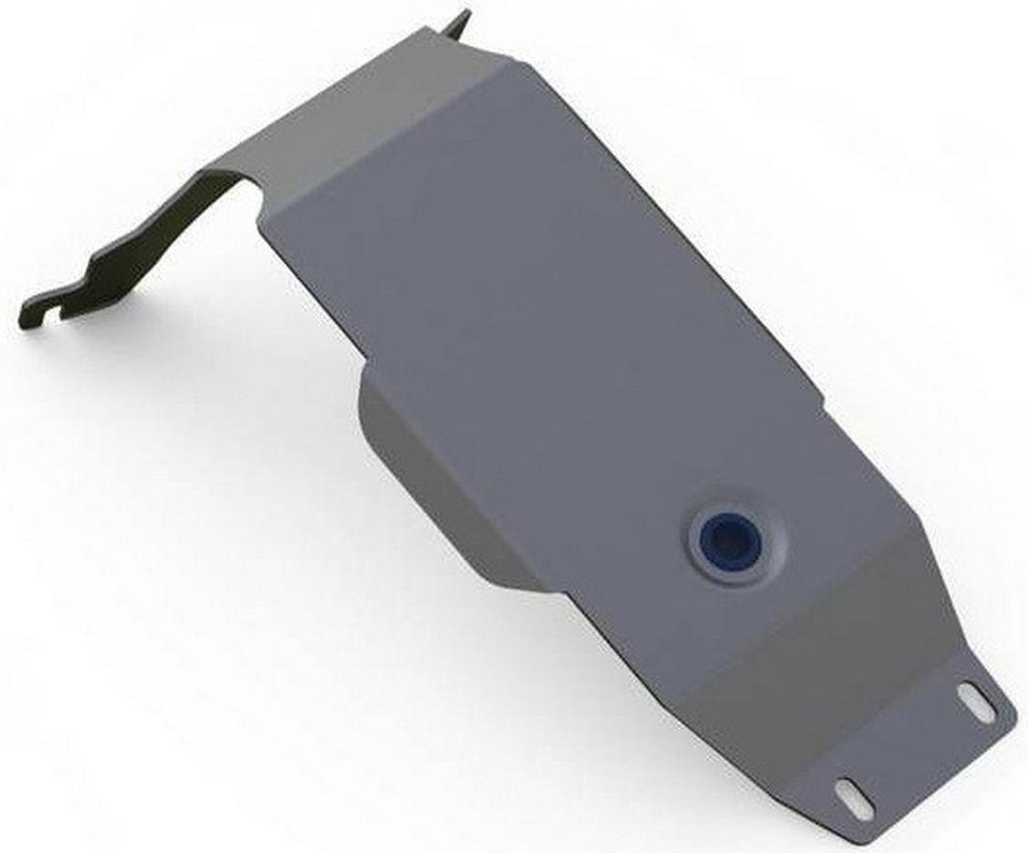 Защита редуктора Rival для Subaru Impreza 2007-2011, алюминий 4 мм333.5402.2Защита редуктора Rival для Subaru Impreza V - 1.5; 2.0; 2.5 (WRX); 2.5 (STI) 2007-2011, алюминий 4 мм, крепеж в комплекте, 333.5402.2Алюминиевые защиты Rival надежно защищают днище вашего автомобиля от повреждений, например при наезде на бордюры, а также выполняют эстетическую функцию при установке на высокие автомобили.- Толщина алюминиевых защит в 2 раза толще стальных, а вес при этом меньше до 30%.- Отлично отводит тепло от двигателя своей поверхностью, что спасает двигатель от перегрева в летний период или при высоких нагрузках.- В отличие от стальных, алюминиевые защиты не поддаются коррозии, что гарантирует срок службы защит более 5 лет.- Покрываются порошковой краской, что надолго сохраняет первоначальный вид новой защиты и защищает от гальванической коррозии.- Глубокий штамп дополнительно усиливает конструкцию защиты.- Подштамповка в местах крепления защищает крепеж от срезания.- Технологические отверстия там, где они необходимы для смены масла и слива воды, оборудованные заглушками, надежно закрепленными на защите.- Помимо основной функции защиты от удара, конструкция так же существенно снижает попадание в моторный отсек влаги и грязи.В комплекте инструкция по установке.Уважаемые клиенты!Обращаем ваше внимание, на тот факт, что защита имеет форму, соответствующую модели данного автомобиля. Наличие глубокого штампа и лючков для смены фильтров/масла предусмотрено не на всех защитах. Фото служит для визуального восприятия товара.