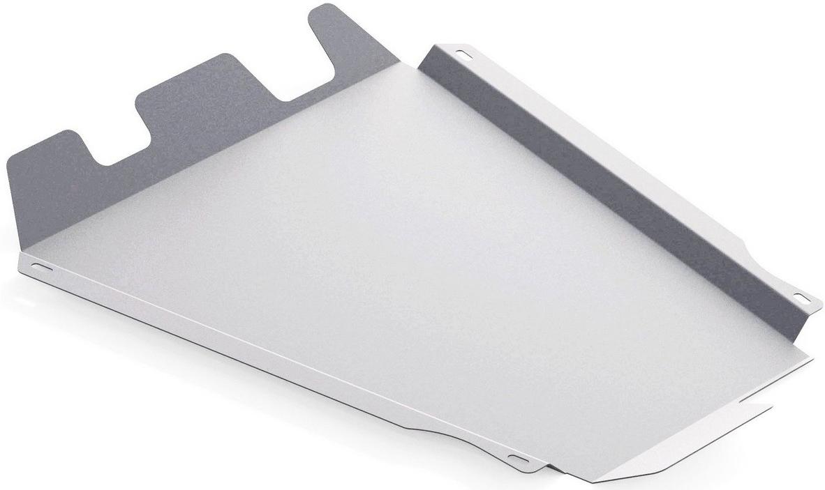 Защита КПП и РК Rival, для Suzuki Jimny, алюминий 4 мм333.5507.1Защита КПП и РК для Suzuki Jimny , V - 1,3 2005-, крепеж в комплекте, алюминий 4 мм, Rival Алюминиевые защиты картера Rival надежно защищают днище вашего автомобиля от повреждений, например при наезде на бордюры, а также выполняют эстетическую функцию при установке на высокие автомобили. - Толщина алюминиевых защит в 2 раза толще стальных, а вес при этом меньше до 30%. - Отлично отводит тепло от двигателя своей поверхностью, что спасает двигатель от перегрева в летний период или при высоких нагрузках. - В отличие от стальных, алюминиевые защиты не поддаются коррозии, что гарантирует срок службы защит более 5 лет. - Покрываются порошковой краской, что надолго сохраняет первоначальный вид новой защиты и защищает от гальванической коррозии. - Глубокий штамп дополнительно усиливает конструкцию защиты. - Подштамповка в местах крепления защищает крепеж от срезания. - Технологические отверстия там, где они необходимы для смены масла и слива воды, оборудованные заглушками, надежно закрепленными на защите. Уважаемые клиенты! Обращаем ваше внимание, на тот факт, что защита имеет форму, соответствующую модели данного автомобиля. Фото служит для визуального восприятия товара.