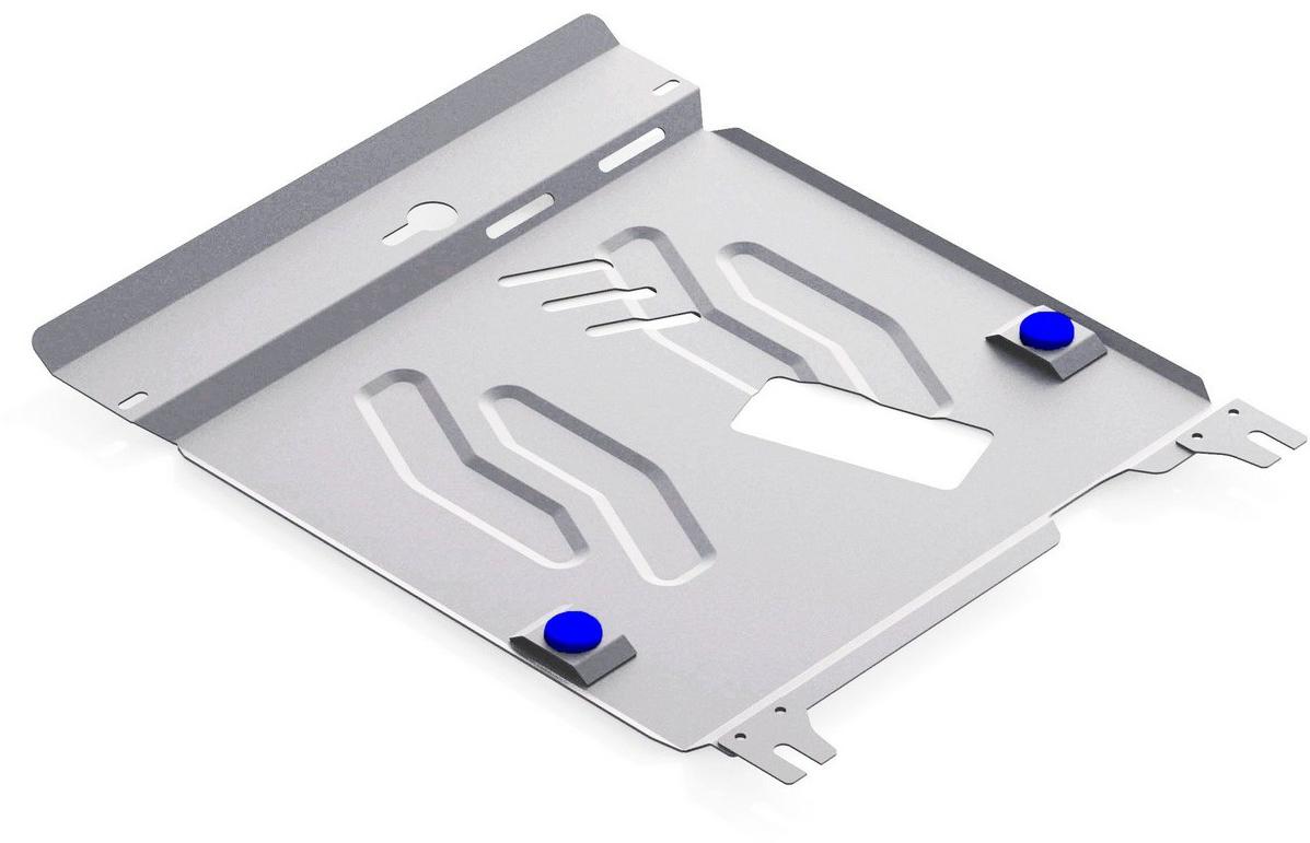 Защита картера и КПП Rival для Suzuki Kizashi 2010-2014, алюминий 4 мм333.5509.1Защита картера и КПП Rival для Suzuki Kizashi V - 2.4 2010-2014, алюминий 4 мм, крепеж в комплекте, 333.5509.1Алюминиевые защиты Rival надежно защищают днище вашего автомобиля от повреждений, например при наезде на бордюры, а также выполняют эстетическую функцию при установке на высокие автомобили.- Толщина алюминиевых защит в 2 раза толще стальных, а вес при этом меньше до 30%.- Отлично отводит тепло от двигателя своей поверхностью, что спасает двигатель от перегрева в летний период или при высоких нагрузках.- В отличие от стальных, алюминиевые защиты не поддаются коррозии, что гарантирует срок службы защит более 5 лет.- Покрываются порошковой краской, что надолго сохраняет первоначальный вид новой защиты и защищает от гальванической коррозии.- Глубокий штамп дополнительно усиливает конструкцию защиты.- Подштамповка в местах крепления защищает крепеж от срезания.- Технологические отверстия там, где они необходимы для смены масла и слива воды, оборудованные заглушками, надежно закрепленными на защите.- Помимо основной функции защиты от удара, конструкция так же существенно снижает попадание в моторный отсек влаги и грязи.В комплекте инструкция по установке.Уважаемые клиенты!Обращаем ваше внимание, на тот факт, что защита имеет форму, соответствующую модели данного автомобиля. Наличие глубокого штампа и лючков для смены фильтров/масла предусмотрено не на всех защитах. Фото служит для визуального восприятия товара.