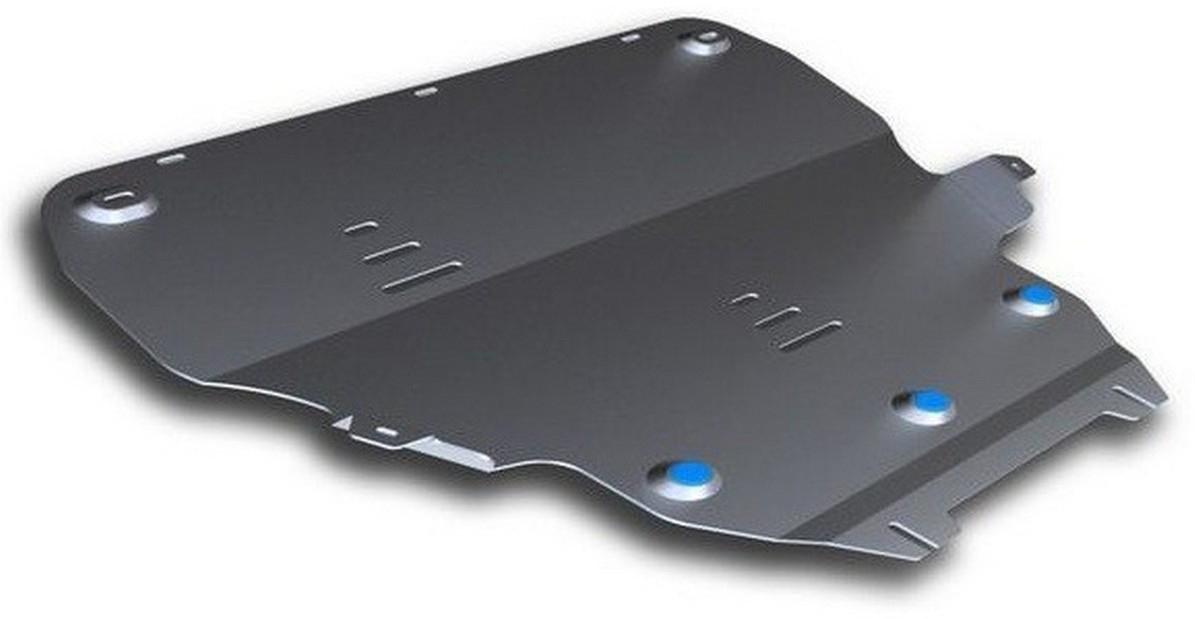 Защита картера и КПП Rival для Volvo V40 Cross Country 2013-, алюминий 4 мм333.5908.1Защита картера и КПП Rival для Volvo V40 Cross Country V - 2.0 4WD 2013-н.в., алюминий 4 мм, крепеж в комплекте, 333.5908.1Алюминиевые защиты Rival надежно защищают днище вашего автомобиля от повреждений, например при наезде на бордюры, а также выполняют эстетическую функцию при установке на высокие автомобили.- Толщина алюминиевых защит в 2 раза толще стальных, а вес при этом меньше до 30%.- Отлично отводит тепло от двигателя своей поверхностью, что спасает двигатель от перегрева в летний период или при высоких нагрузках.- В отличие от стальных, алюминиевые защиты не поддаются коррозии, что гарантирует срок службы защит более 5 лет.- Покрываются порошковой краской, что надолго сохраняет первоначальный вид новой защиты и защищает от гальванической коррозии.- Глубокий штамп дополнительно усиливает конструкцию защиты.- Подштамповка в местах крепления защищает крепеж от срезания.- Технологические отверстия там, где они необходимы для смены масла и слива воды, оборудованные заглушками, надежно закрепленными на защите.- Помимо основной функции защиты от удара, конструкция так же существенно снижает попадание в моторный отсек влаги и грязи.В комплекте инструкция по установке.Уважаемые клиенты!Обращаем ваше внимание, на тот факт, что защита имеет форму, соответствующую модели данного автомобиля. Наличие глубокого штампа и лючков для смены фильтров/масла предусмотрено не на всех защитах. Фото служит для визуального восприятия товара.
