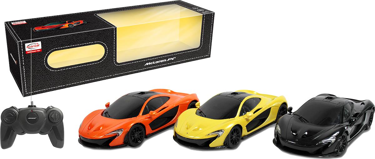 Rastar Радиоуправляемая модель McLaren P1 масштаб 1:24 rastar радиоуправляемая модель mclaren p1 масштаб 1 14 цвет желтый