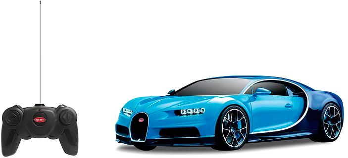 Rastar Радиоуправляемая модель Bugatti Chiron масштаб 1:24