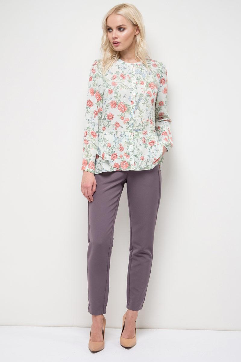 Блузка женская Sela, цвет: бледно-зеленый. B-112/531-8120. Размер 50 sela b 112 225 7244