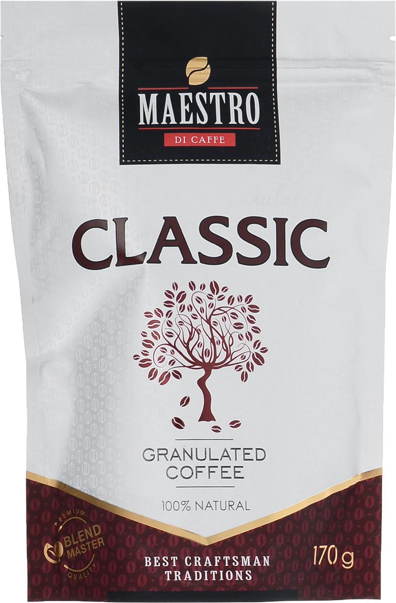 Maestro Di Caffe Classic кофе растворимый гранулированный, 170 г maestro di caffe superior кофе растворимый сублимированный 90 г