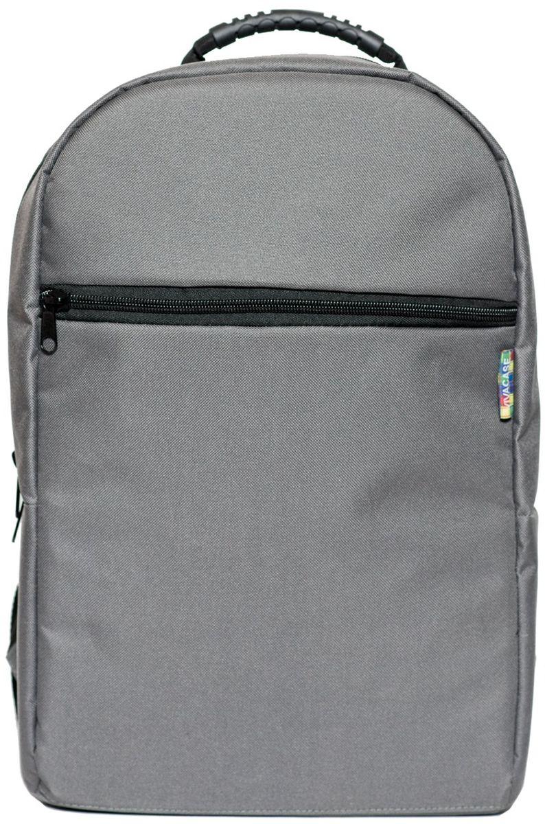 Vivacase Business, Grey рюкзак для ноутбука 15,6VCN-BBS15-grРюкзак для ноутбука c диагональю 15.6 специально создан для большого города. Вместительный и легкий он сшит уникального водонепроницаемого материал, устойчивого к различным загрязнениями, осадкам и выцветанию. В любую погоду и ваш рюкзак будет смотреться отлично!Строгий и лаконичный дизайн рюкзака разработан таким образом, чтобы равномерно распределять нагрузку на спину и плечи. Длина ремней регулируется по фигуре. В лямки вшит специальный мягкий материал, что делает рюкзак особенно комфортным даже при долгом ношении. В рюкзаке предусмотрены два внутренних отделение для ноутбука 15,6 и планшета диагональю 10 дюймов и одно внешнее отделение на молнии, куда поместятся папка с документами формата А 4. Каждое отделение разграничено прокладкой из ударопрочного материала. При желании вы можете спокойно носить несколько дорогих гаджетов вместе, не боясь, что они поцарапаются друг о друга