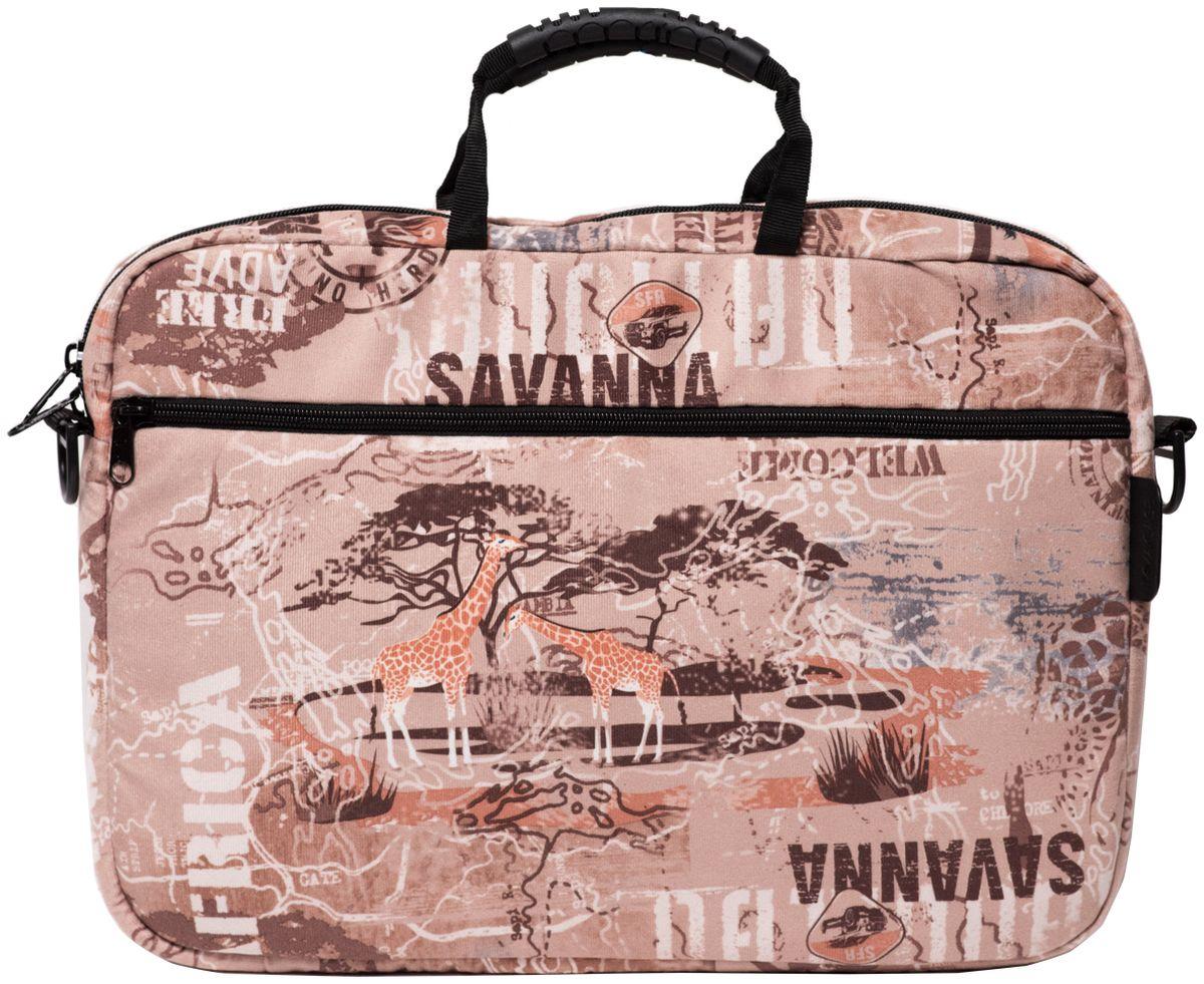 "Vivacase Savanna, Beige сумка для ноутбука 15,6"""