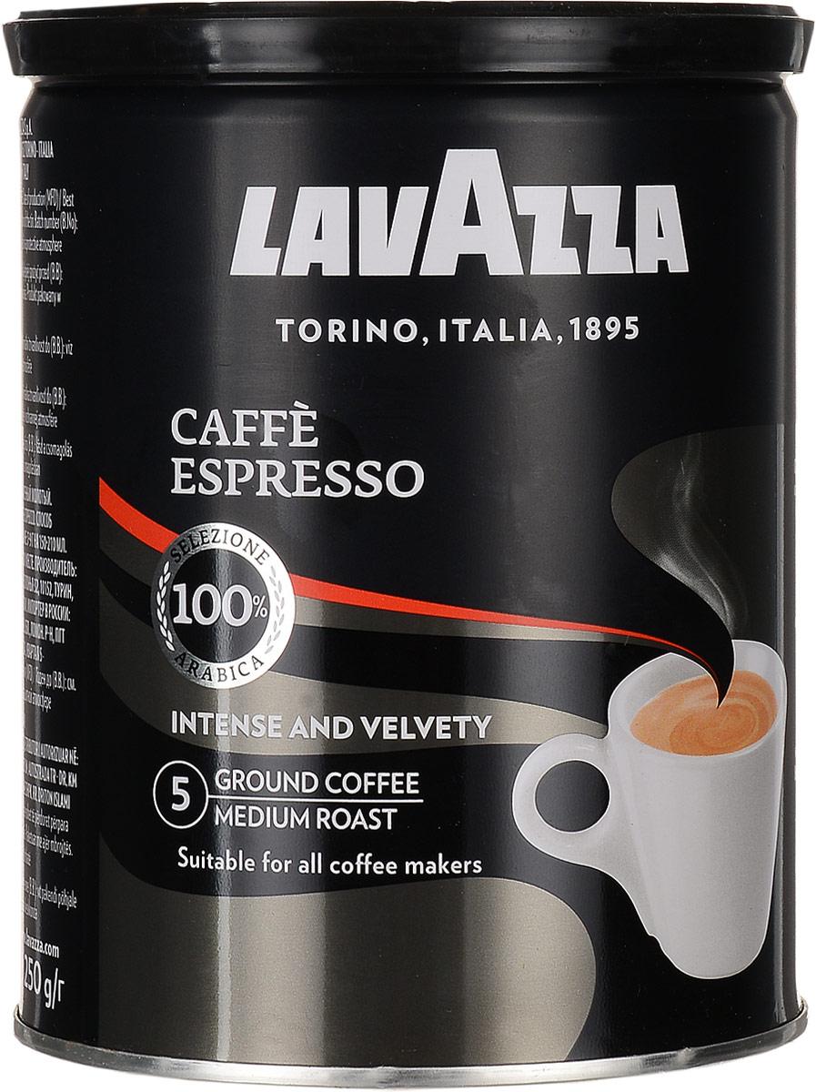 Lavazza Caffe Espresso кофе молотый, 250 г (ж/б)