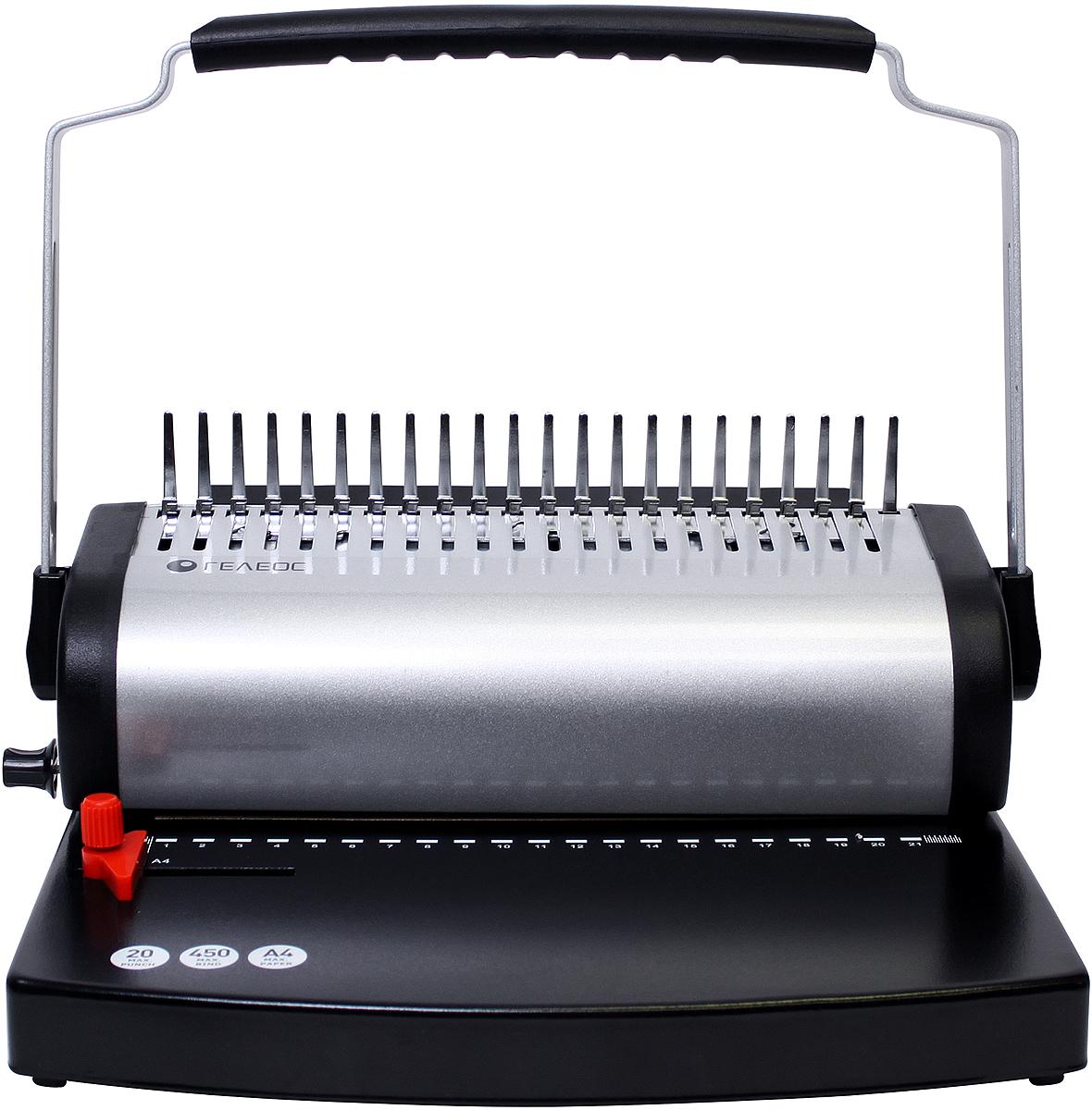 Гелеос БП-500-1 переплетчик, цвет серебристый черный