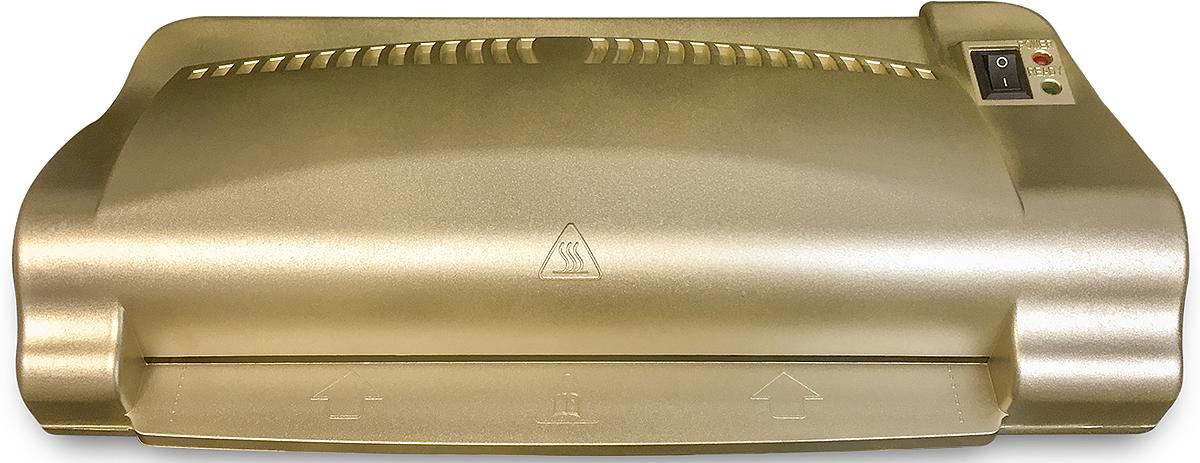Гелеос ЛМ A4-2 ламинатор, цвет золотой - Офисная техника