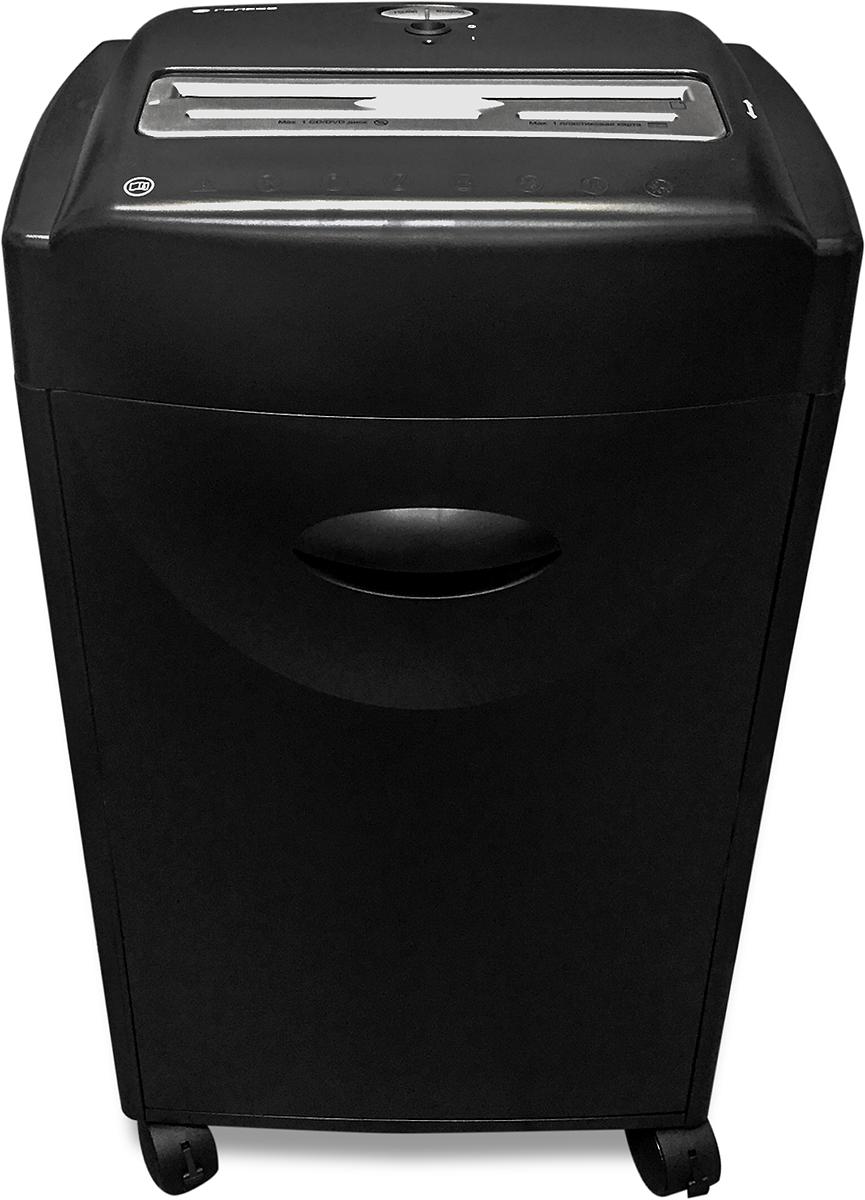 Гелеос УО42-4 шредер, цвет черныйУО42-4Уничтожитель для среднего офиса Гелеос УО42-4 с перекрестной резкой, обеспечивает Р-4 уровень секретности. Отличается высокой скоростью уничтожения. Позволяет уничтожать компакт диски и пластиковые карты, ножи устойчивы к попаданию канцелярских скоб и мелких скрепок. Оснащен световой индикацией функций: перегрева, открытия двери и наполнения корзины, замятия. Автоматические функции обеспечат безопасную и продолжительную эксплуатацию аппарата.