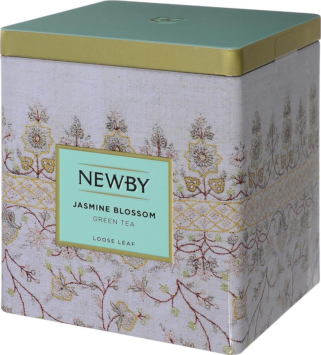 Newby Jasmine Blossom зеленый листовой чай, 125 г c lc006 100g 100% естественный самый свежий чай цветка жасмина органический зеленый чай здравствулте