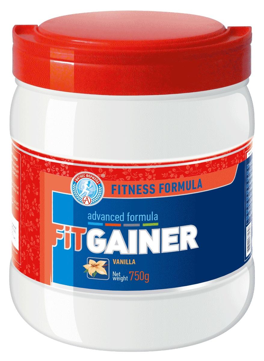 Гейнер Академия-Т Fit, ваниль, 750 г fit gainer 750 гр ваниль fitness formula академия т