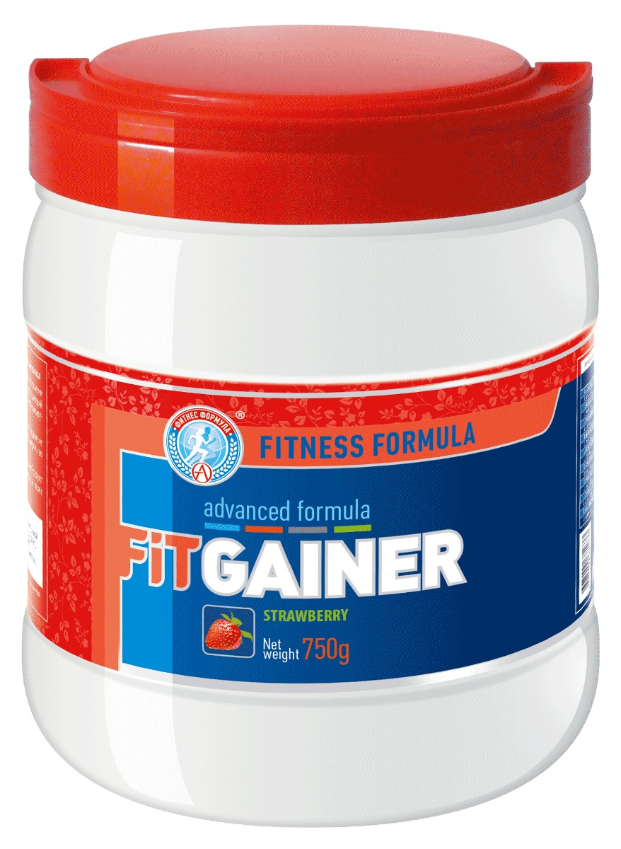 Гейнер Академия-Т Fit, клубника, 750 гБП-00000592«FIT GAINER» включает в себя сбалансированный белковый комплекс, углеводы с пищевыми волокнами (в сумме дающие быструю и долговременную энергию), креатин и папаин (фермент который улучшает усвояемость белка), а также специально разработанный витаминно-минеральный профиль, оптимизирующий энергетику, усвоение и обмен веществ.Фит Гейнер предназначен для людей, которые стремятся прибавить мышечную массу за короткие сроки. Употребление гейнера перед нагрузками позволяет поддерживать высокий уровень энергии во время занятий и игр, а после тренинга помогает восстановить силы и мышцы.«FIT GAINER» подходит для применения как в тренировочном, так и в соревновательном цикле. Продукт полностью натурален, не содержит компонентов, подвергнутых генетической модификации, а также допинговых средств и/или их метаболитов.Условия хранения: Хранить в сухом месте при температуре не выше +25°С.Срок годности: 24 месяца с даты изготовленияСостав: мальтодекстрин, концентрат белка молочной сыворотки, фруктоза, креатин моногидрат, пищевое волокно гуммиарабик, витаминно-минеральный премикс, папаин, ароматизатор.Как повысить эффективность тренировок с помощью спортивного питания? Статья OZON Гид