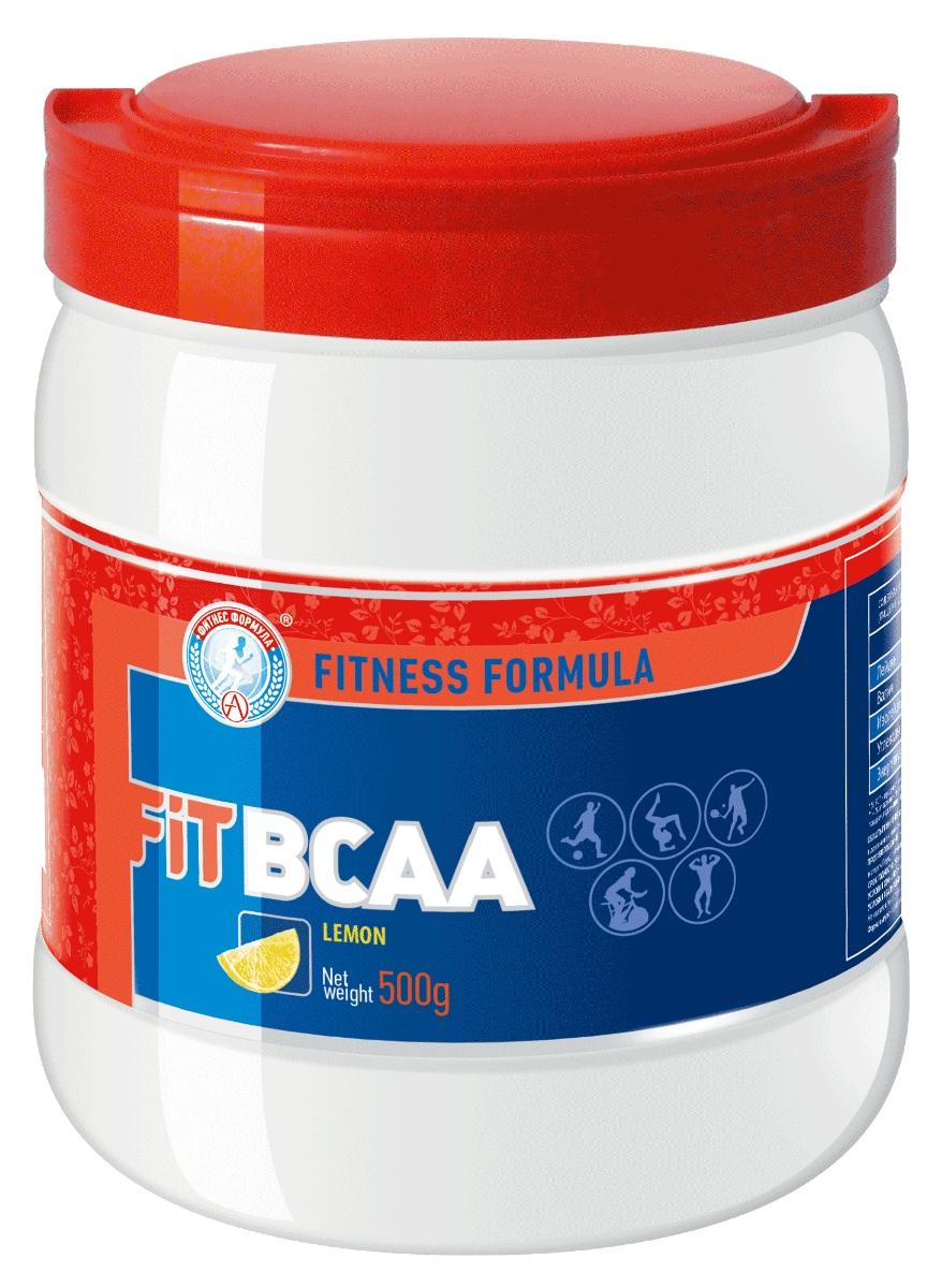 Аминокислоты Академия-Т BCAA Fit, лимон, 500 гр аминоксилоты с разветвленной цепью bbb bcaa drink лимон 0 24 кг