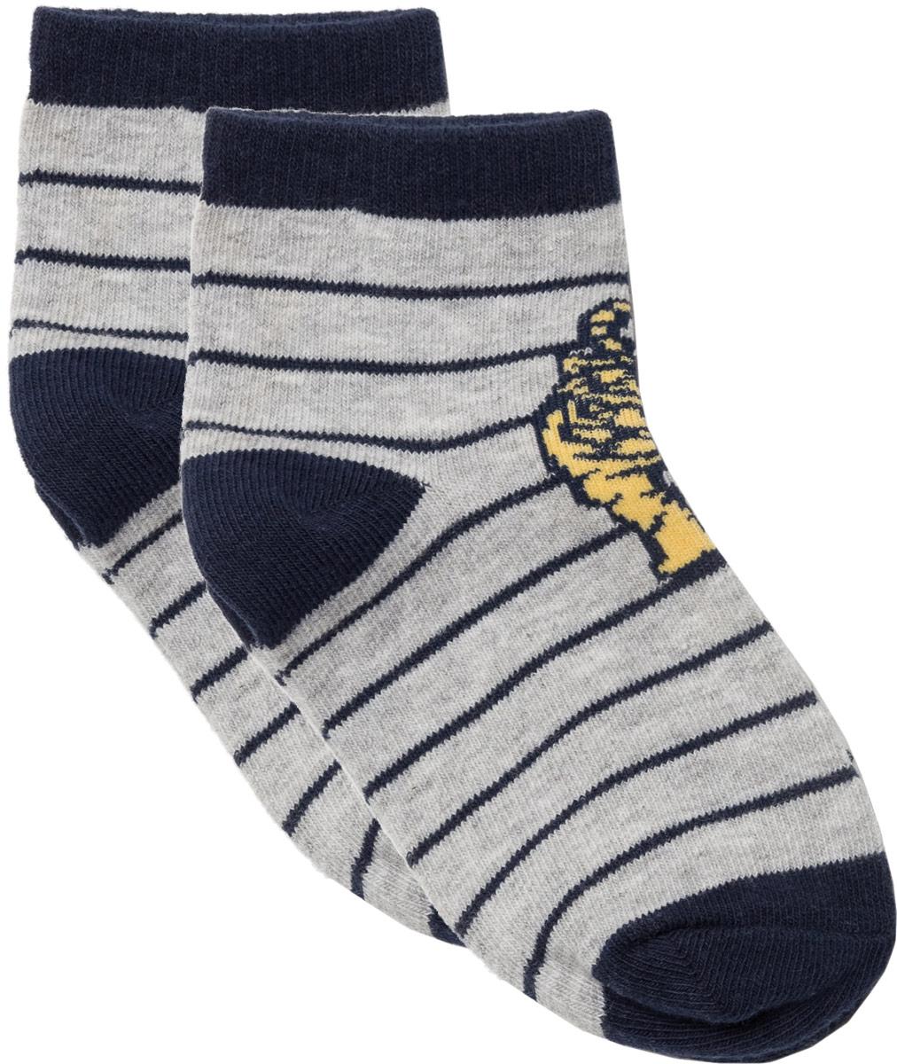 Носки для мальчика Sela, цвет: серый меланж. SOb-7854/194-8111. Размер 20/22SOb-7854/194-8111Носки для мальчика Sela изготовлены из высококачественного материала. Носки имеют эластичную резинку, которая надежно фиксирует носки на ноге.