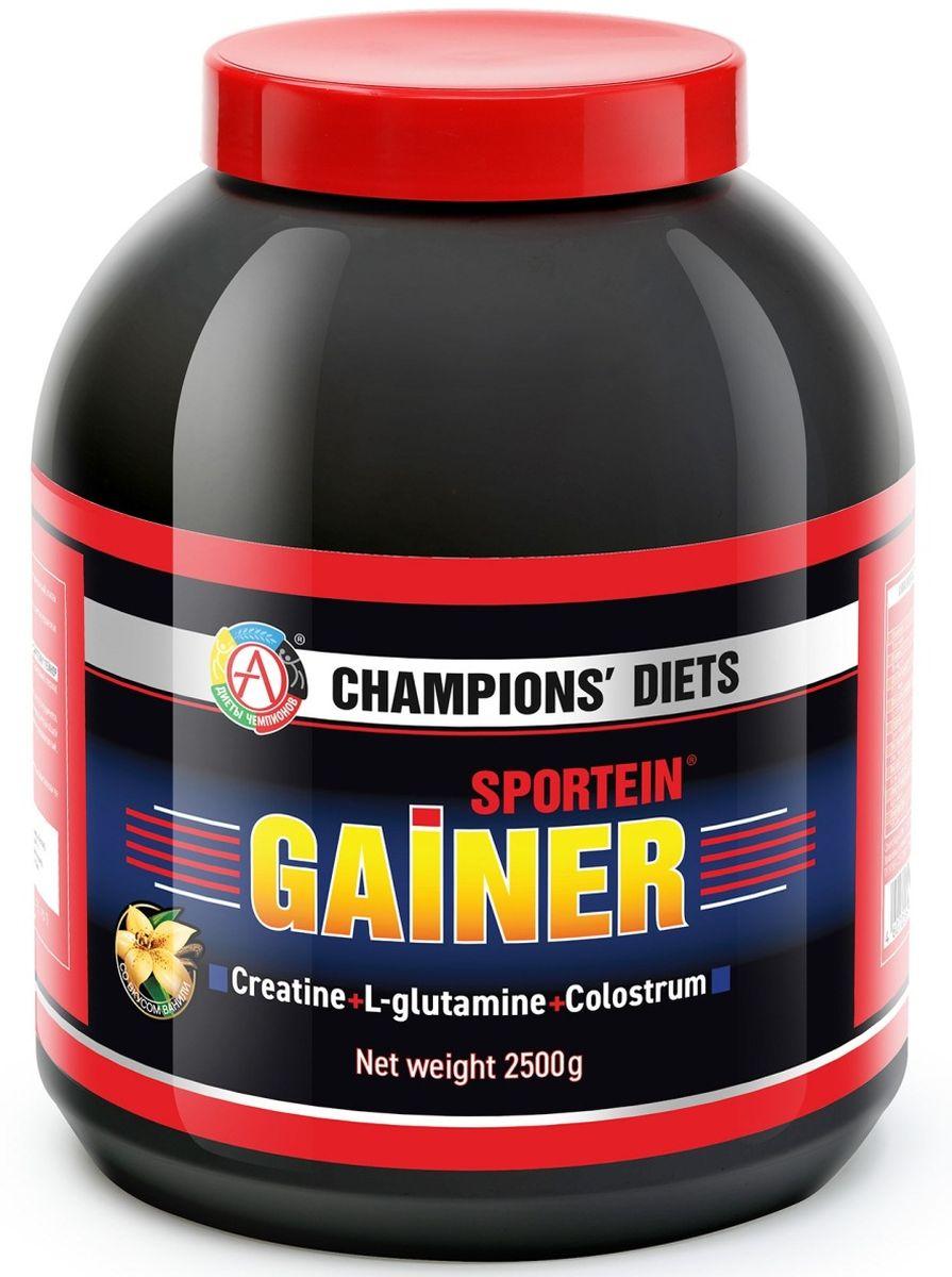 Гейнер Академия-Т Sportein. Gainer, ваниль, 2,5 кг цена