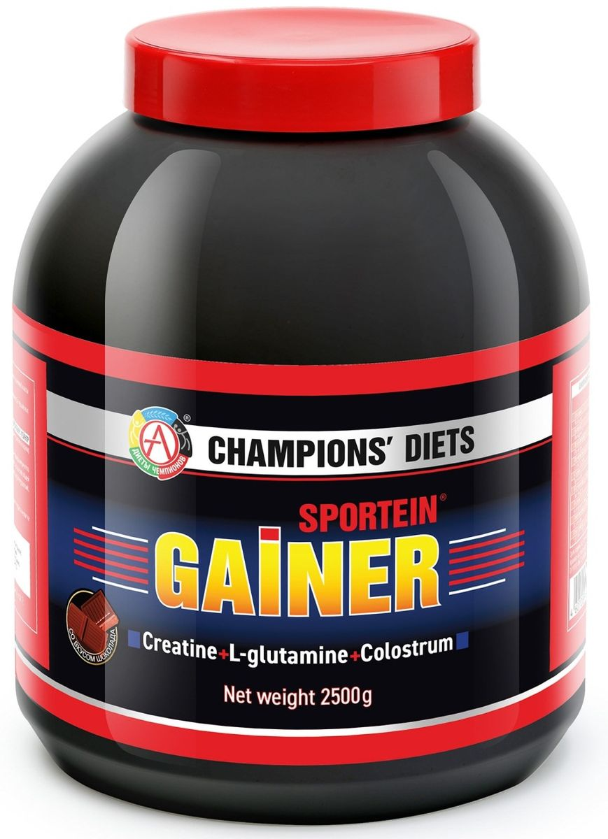 Гейнер Академия-Т Sportein. Gainer, шоколад, 2,5 кг гейнер geneticlab nutrition mass gainer шоколад 1000 г