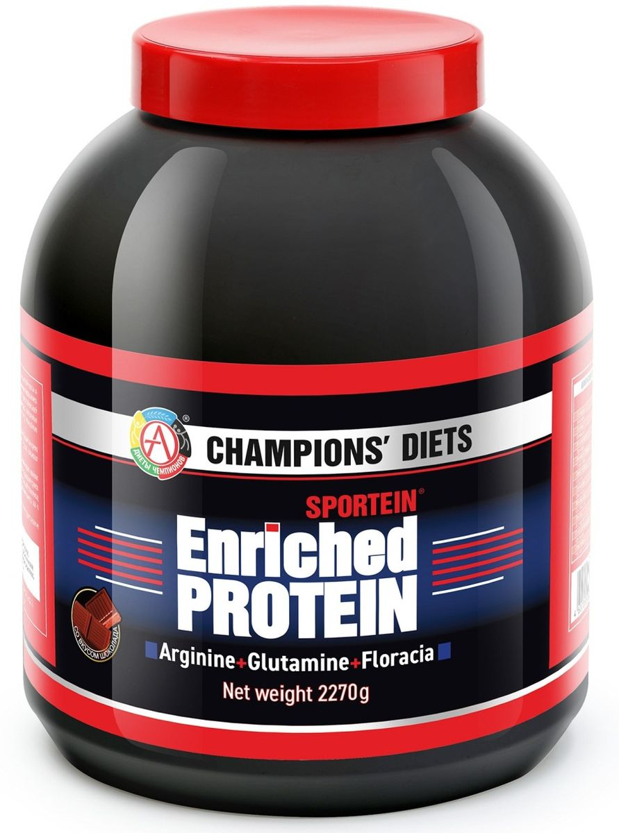Протеин Академия-Т Sportein. Enriched Protein, шоколад, 2,27 кг selenium enriched yeast saccharomyces cerevisiae and hepatotoxicity