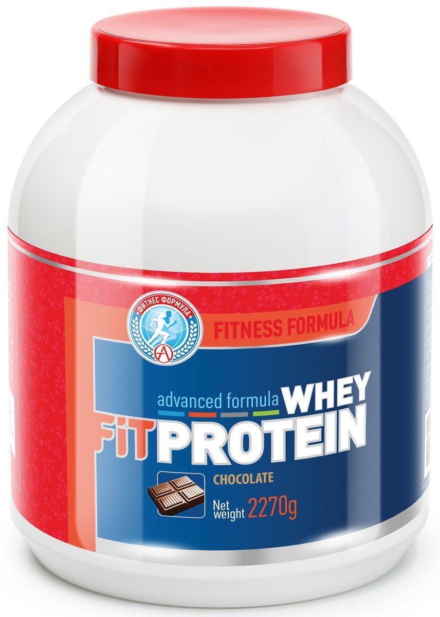 Протеин Академия-Т Whey Fitprotein, шоколад, 2,27 кг протеин muscletech whey plus ваниль 2 27 кг