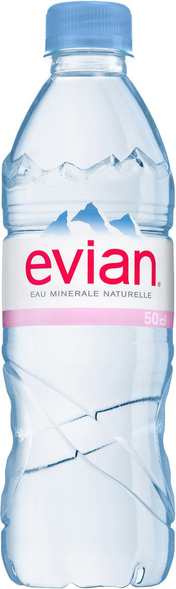 Evian вода минеральная природная столовая негазированная, 0,5 л