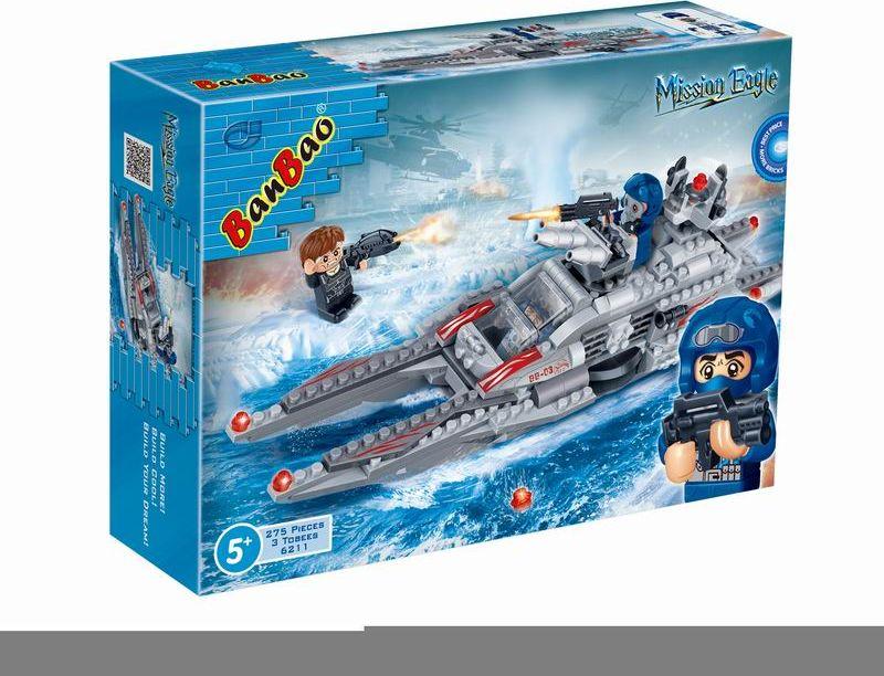 где купить BanBao Пластиковый конструктор Подводная лодка 275 деталей по лучшей цене